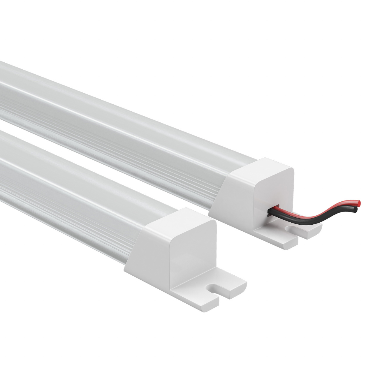 Лента в PVC-профиле Profiled 400012 12V 9.6W 120LED 3000K с прямоугольным рассеивателем, пластик, 1шт 1м Lightstar 409112