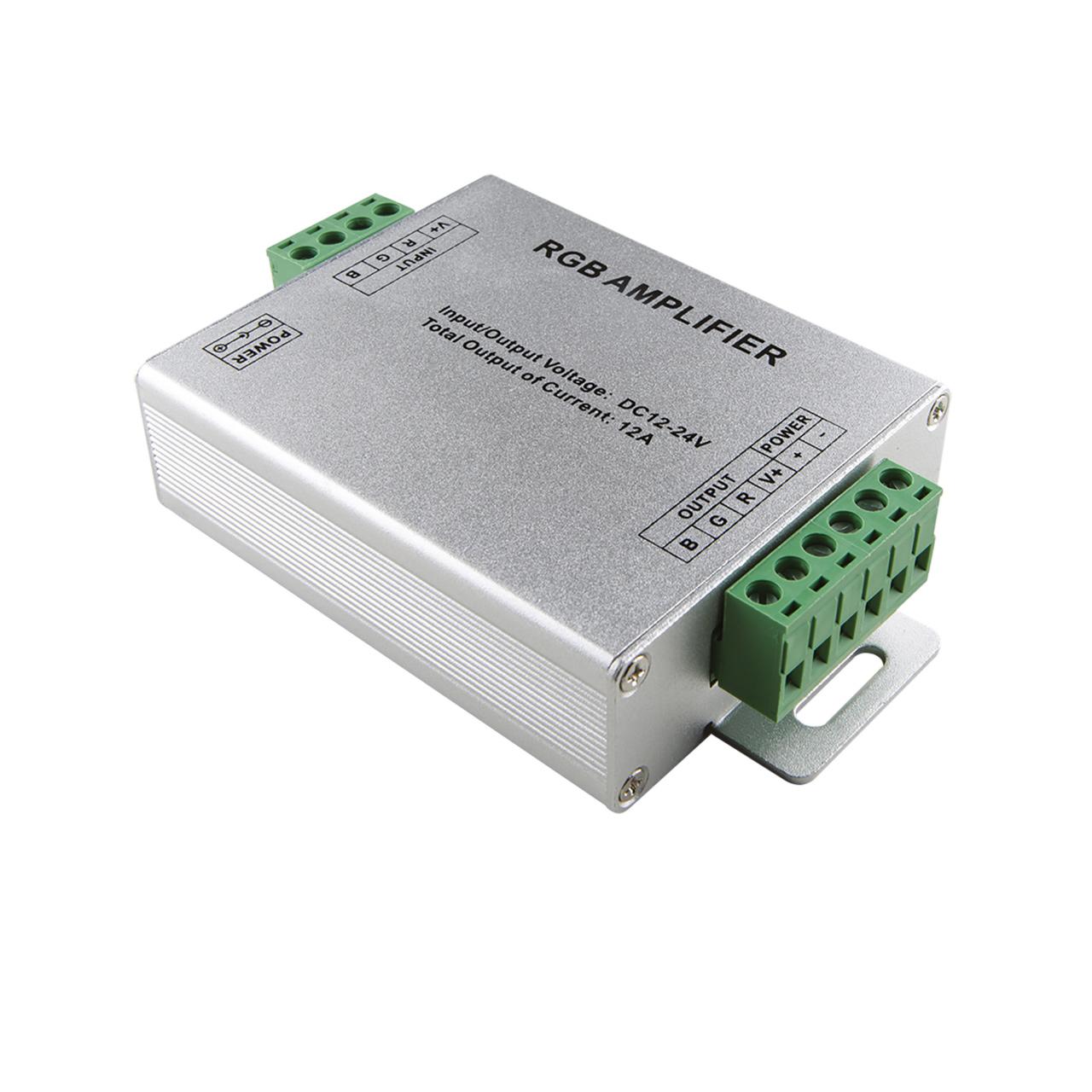 Усилитель сигнала LED RGB 12V/24V max 4A*3CH Lightstar 410704