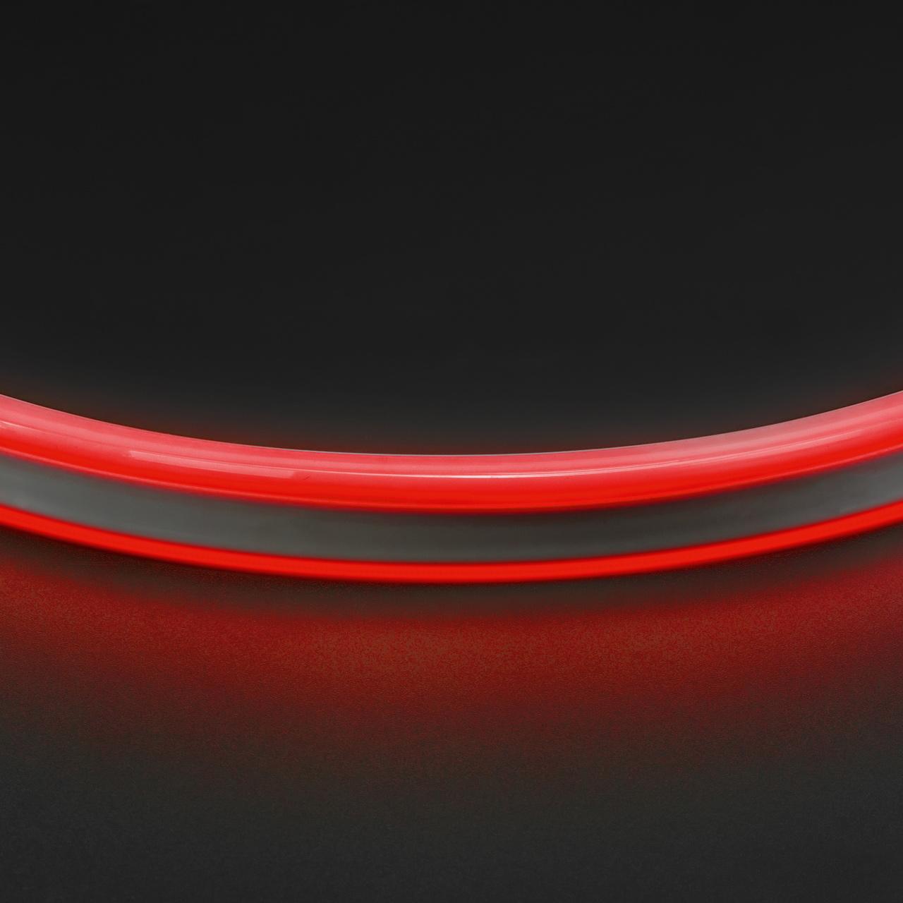 Лента гибкая неоновая NEOLED 220V 120 LED красный цвет IP65 Lightstar 430101