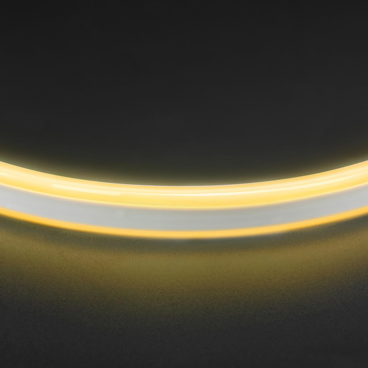 Лента гибкая неоновая NEOLED 220V 120 LED теплый белый цвет IP65 Lightstar 430102