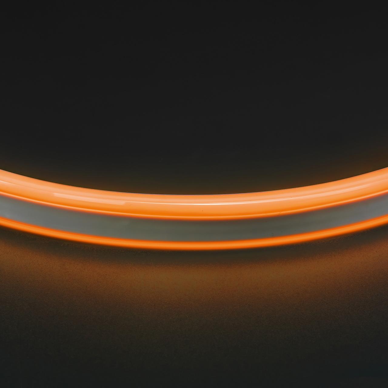 Лента гибкая неоновая NEOLED 220V 120 LED янтарный цвет IP65 Lightstar 430103