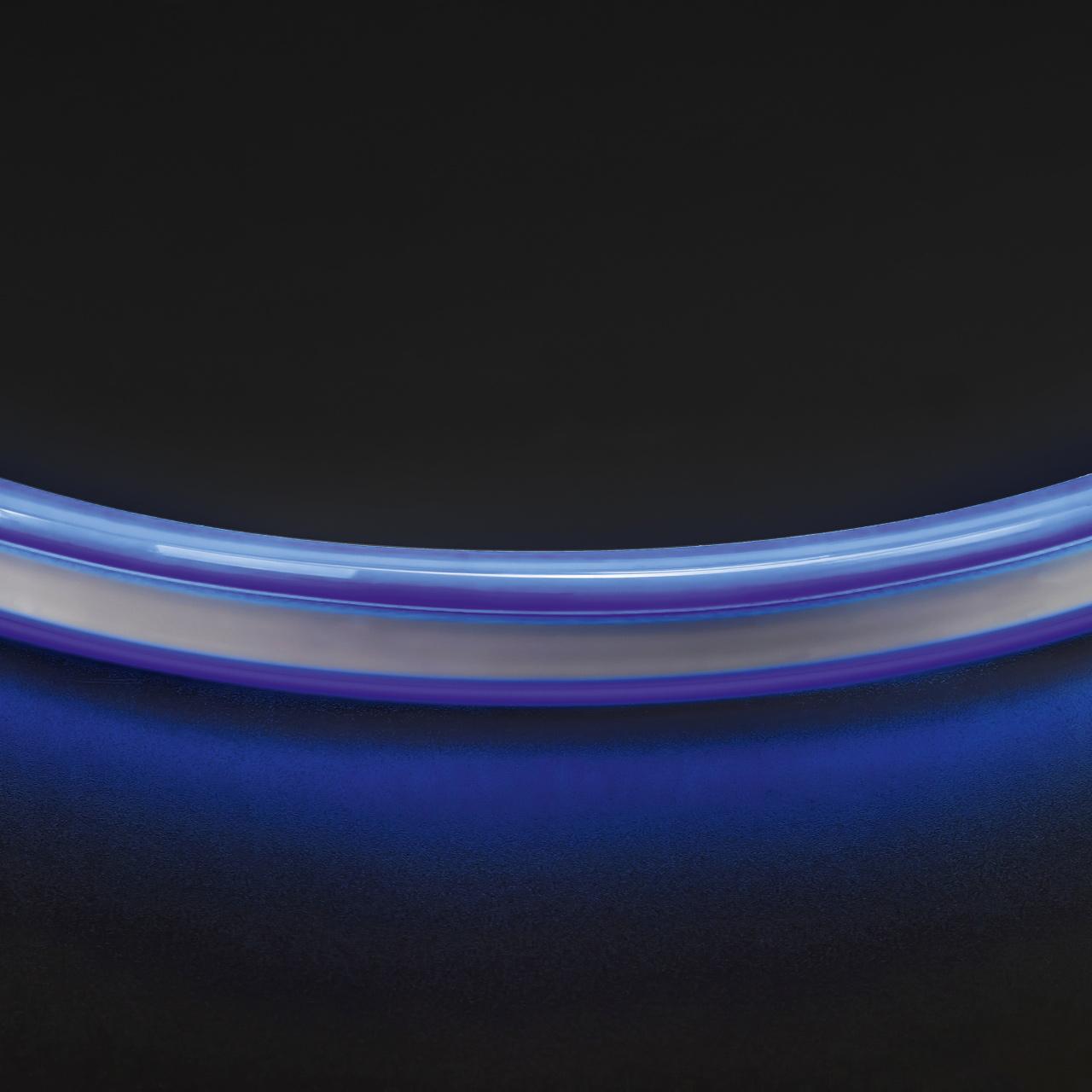 Лента гибкая неоновая NEOLED 220V 120 LED голубой цвет IP65 Lightstar 430105