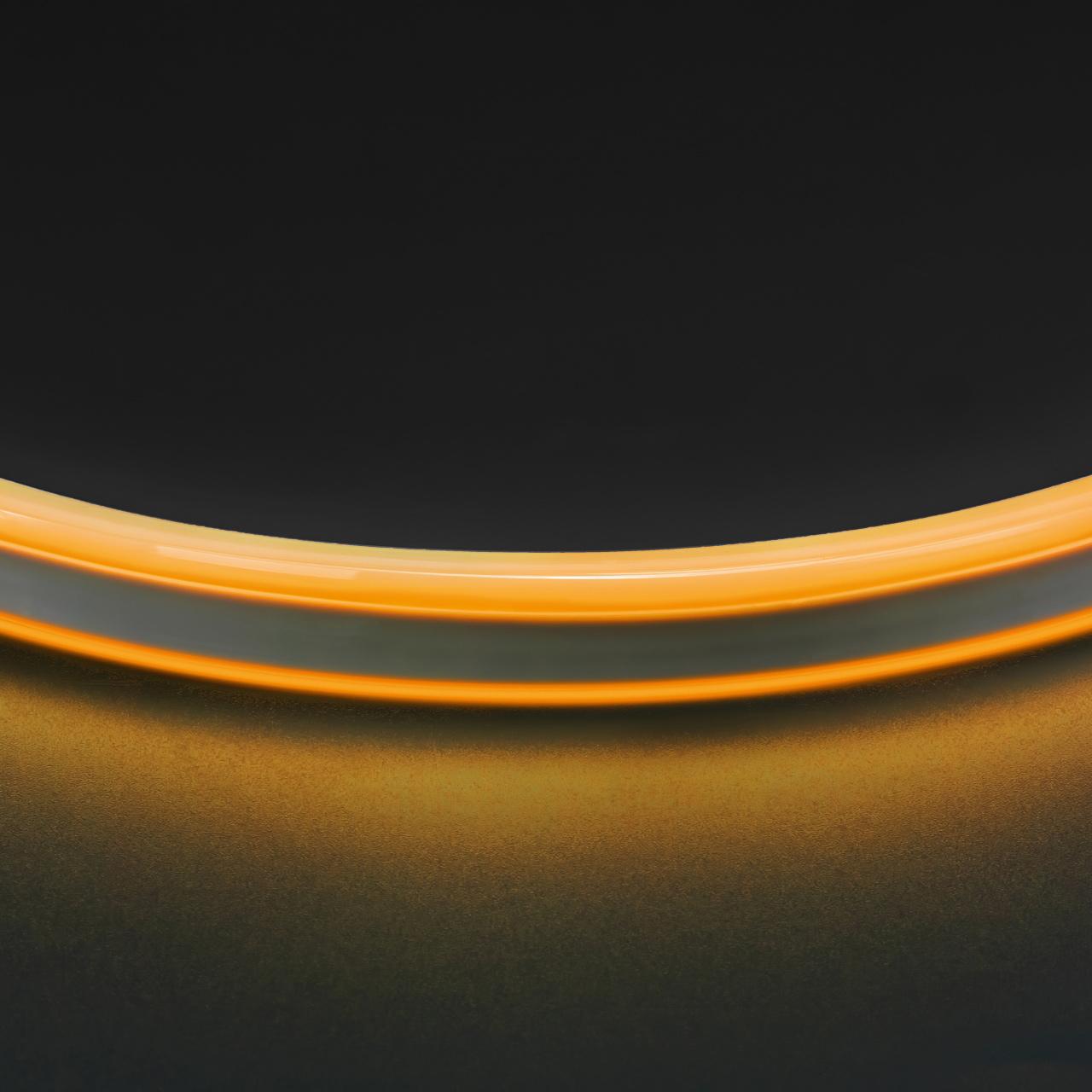 Лента гибкая неоновая NEOLED 220V 120 LED желтый цвет IP65 Lightstar 430106