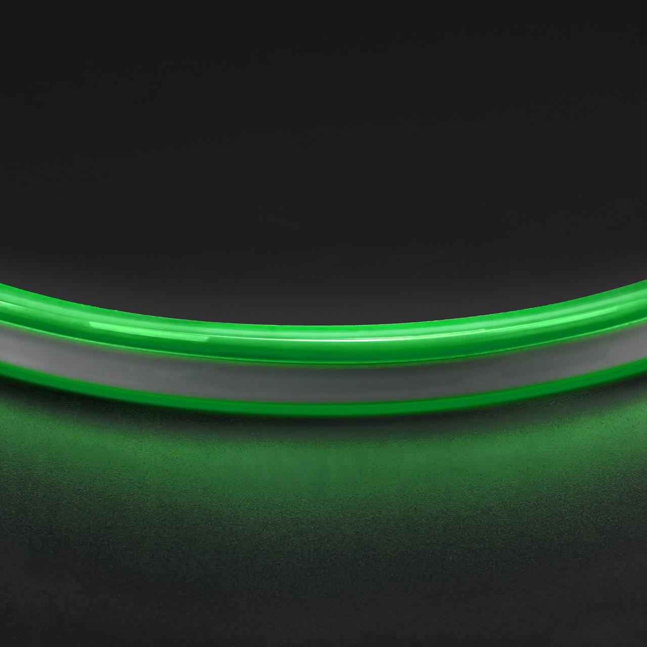 Лента гибкая неоновая NEOLED 220V 120 LED зеленый цвет IP65 Lightstar 430107