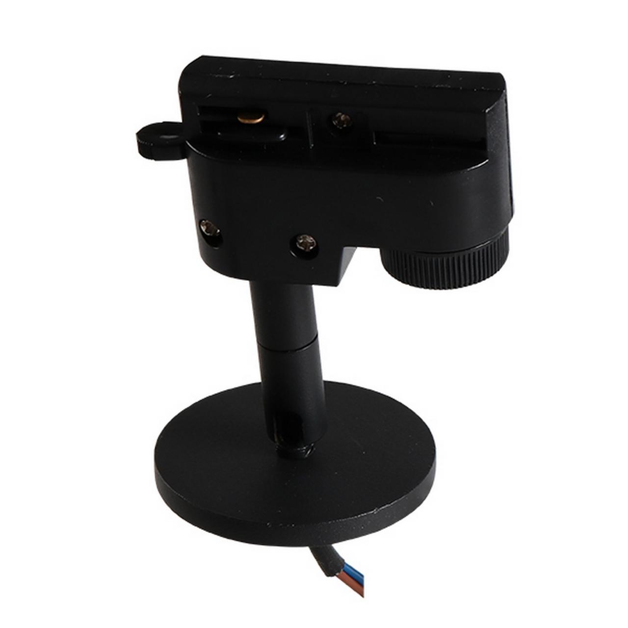 Трековое крепление Asta с 1-фазным адаптером к 21443х/21448x/21449x черный Lightstar 592057