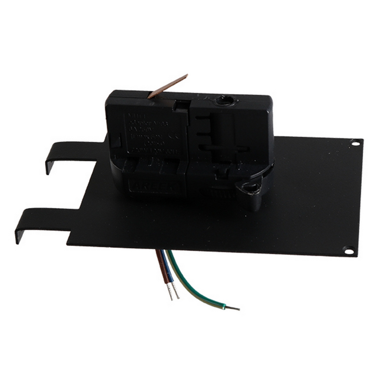Трековое крепление Asta с 3-фазным адаптером к 05121x/05131x черный Lightstar 594037