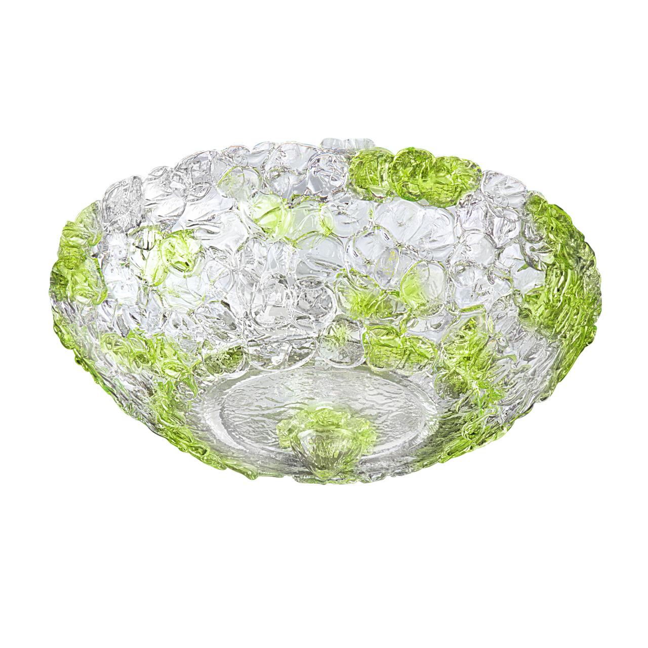 Плафон потолочный Murano 6х40W E14 green Lightstar 604074
