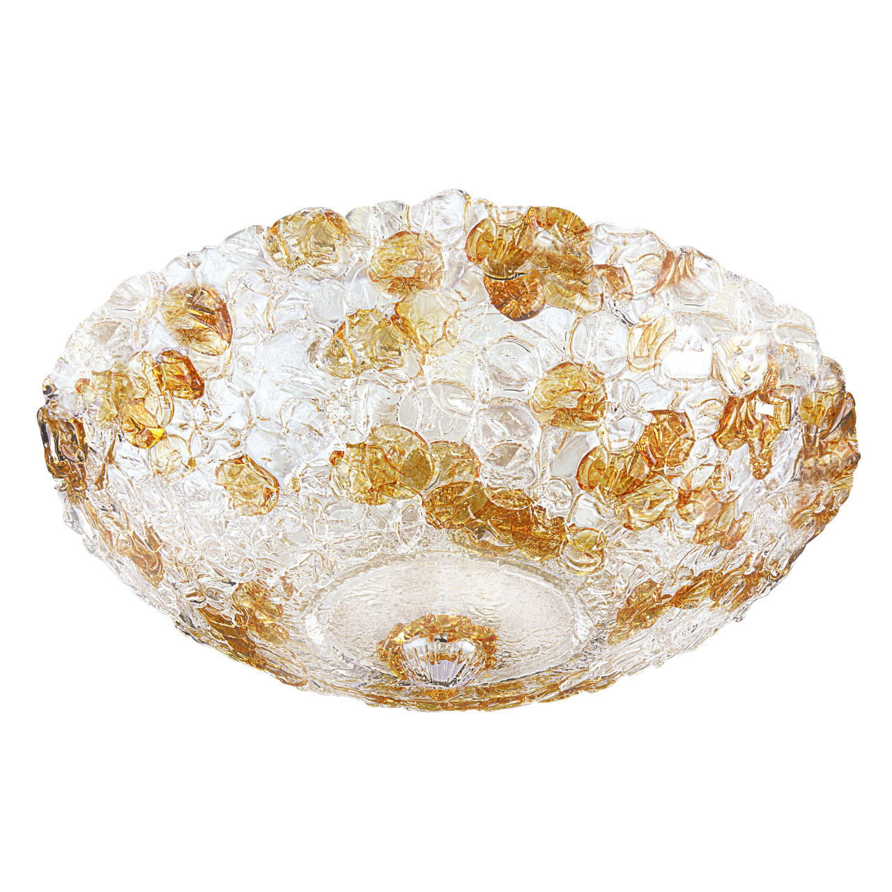 Плафон потолочный Murano 10х40W E14 amber Lightstar 604103