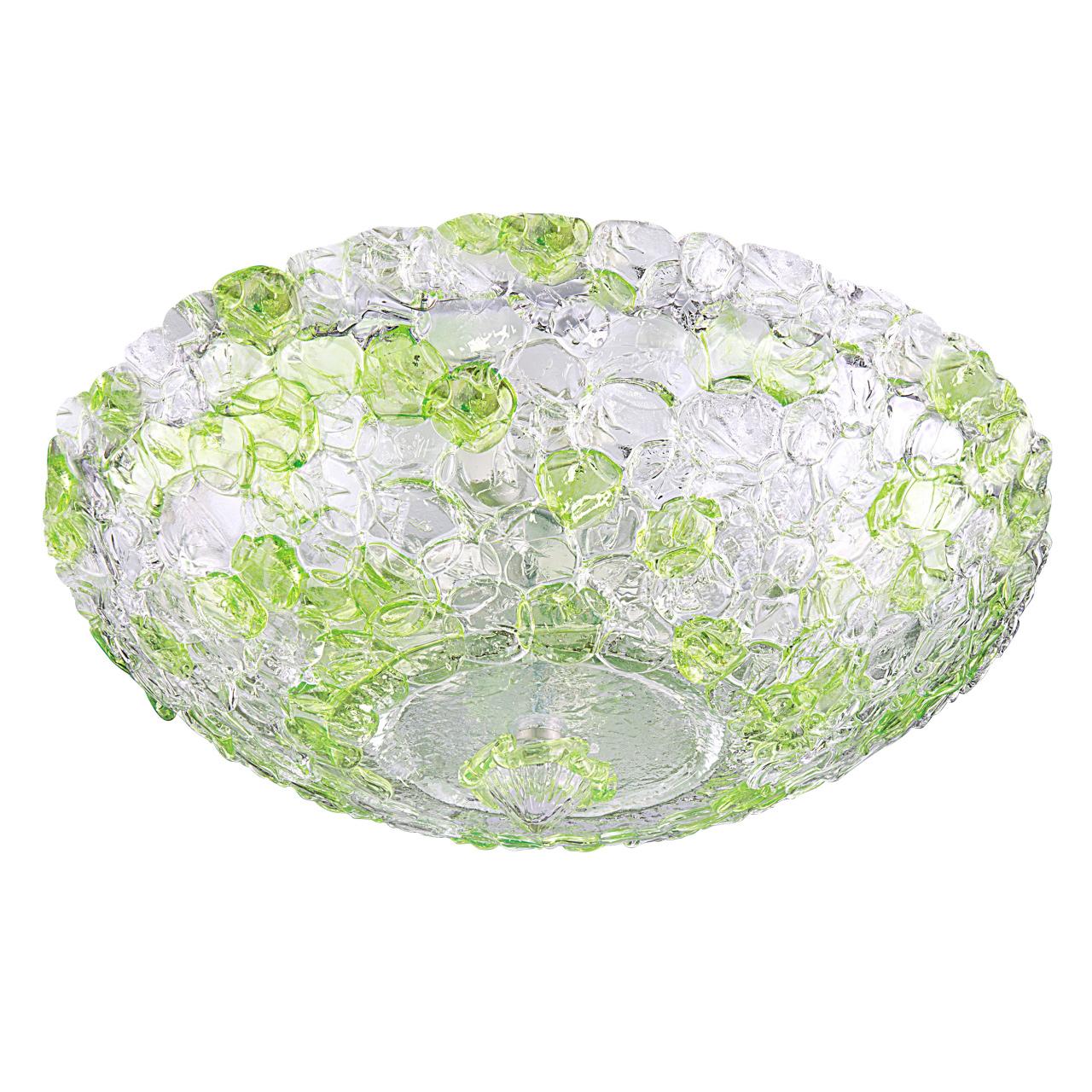 Плафон потолочный Murano 10х40W E14 green Lightstar 604104