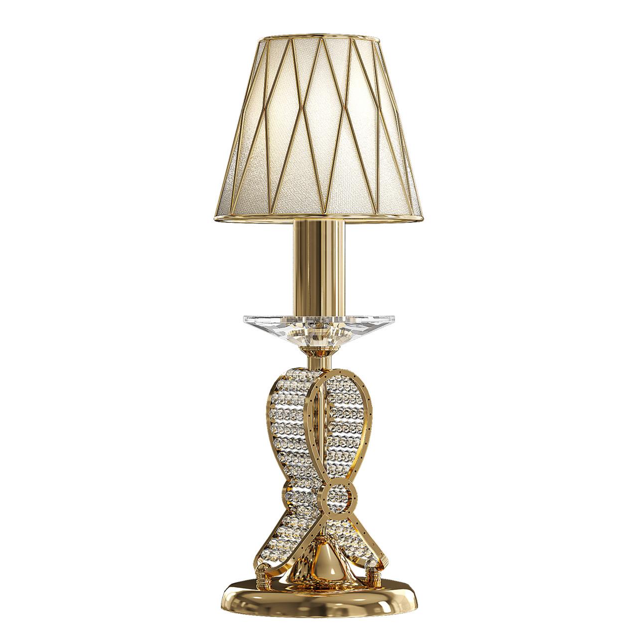 Настольная лампа Ricerco 1х40W E14 24K золото Osgona 705912
