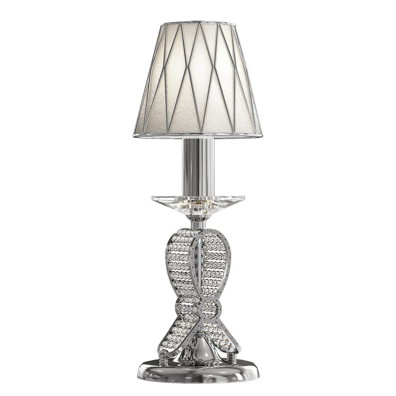 Настольная лампа Ricerco 1х40W E14 хром Osgona 705914
