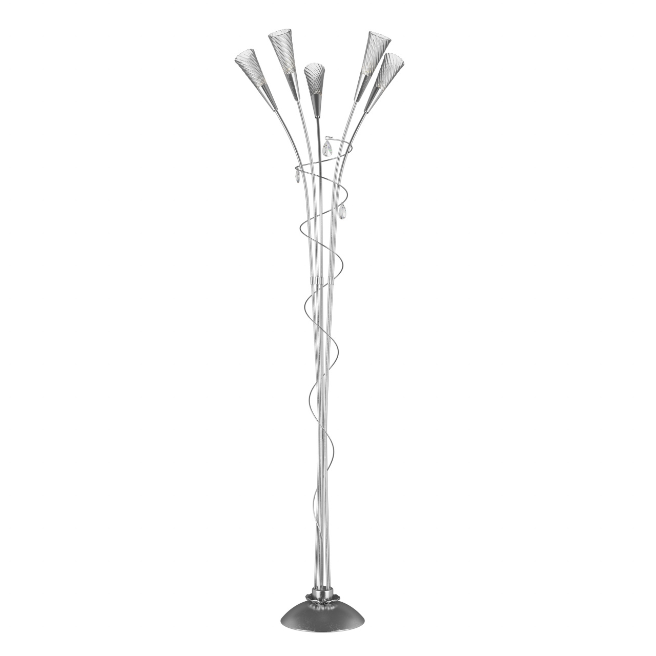 Торшер Aereo 5х25W G9 silver foil Lightstar 711759