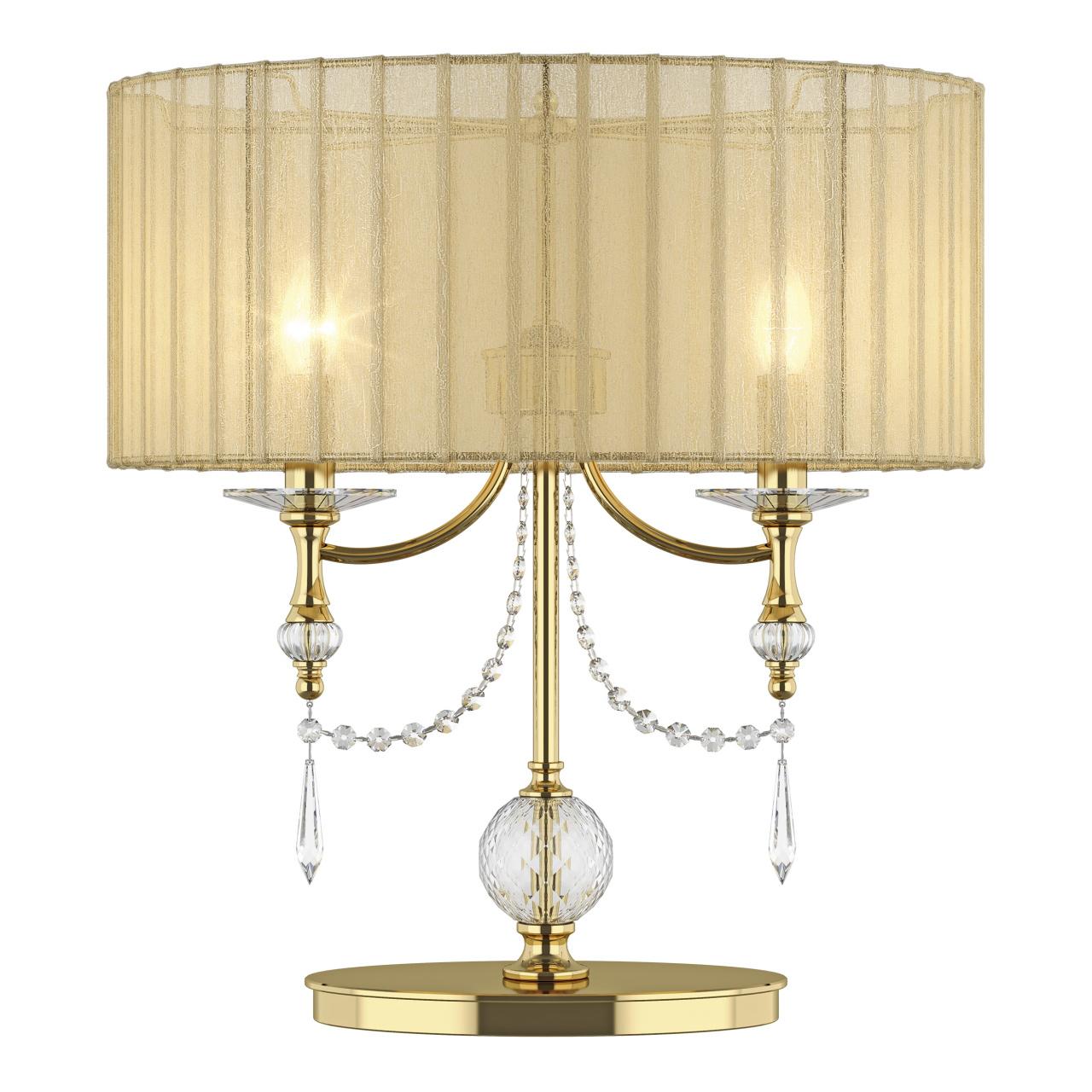 Настольная лампа ParAlume 2х40W E14 золото Lightstar 725923