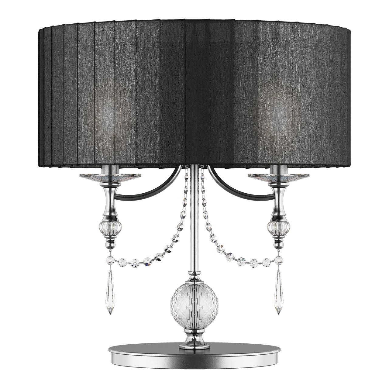 Настольная лампа ParAlume 2х40W E14 черный Lightstar 725927