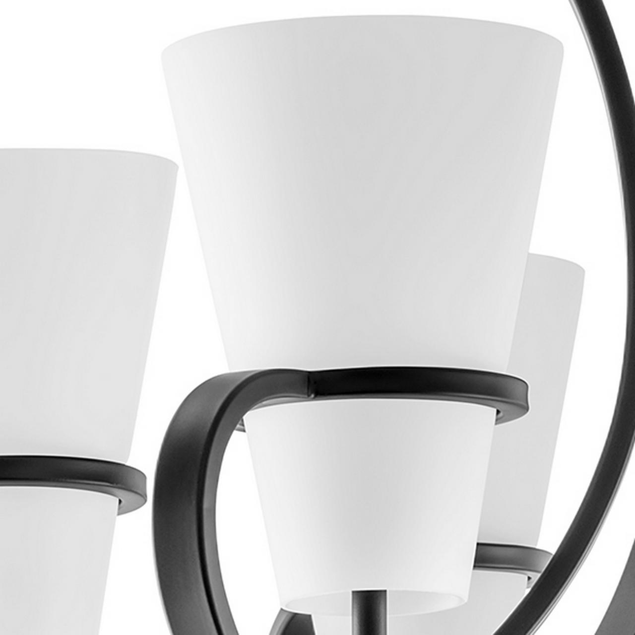 Подвесная люстра FIACOLLA LightStar 733067 цвет - черный/белый
