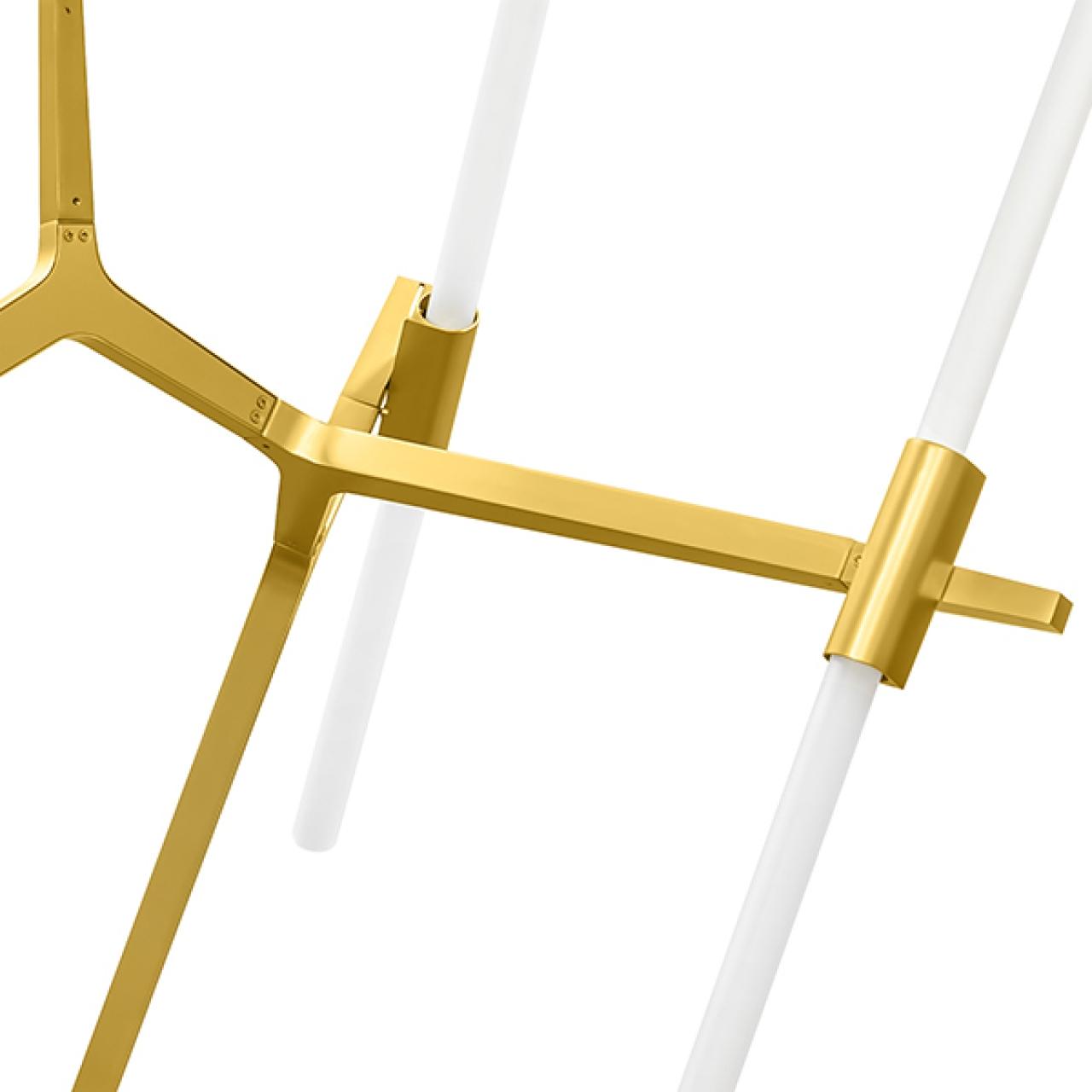 Подвесная люстра STRUTTURA LightStar 742103 цвет - матовое золото