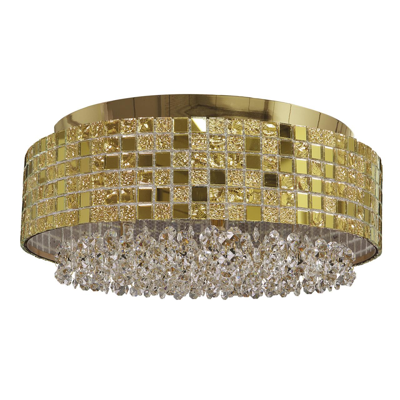 Люстра потолочная Bezazz 6х40W G9 золото Lightstar 743062