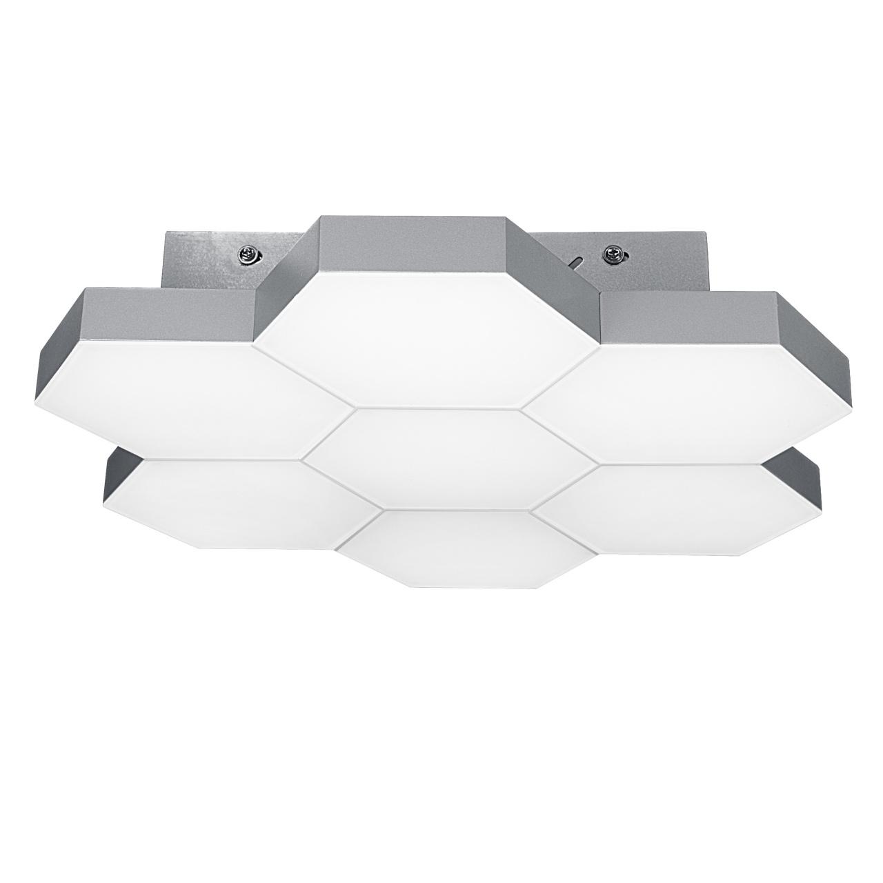 Люстра потолочная Favo LED-35W 1680LM silver 4000K Lightstar 750074