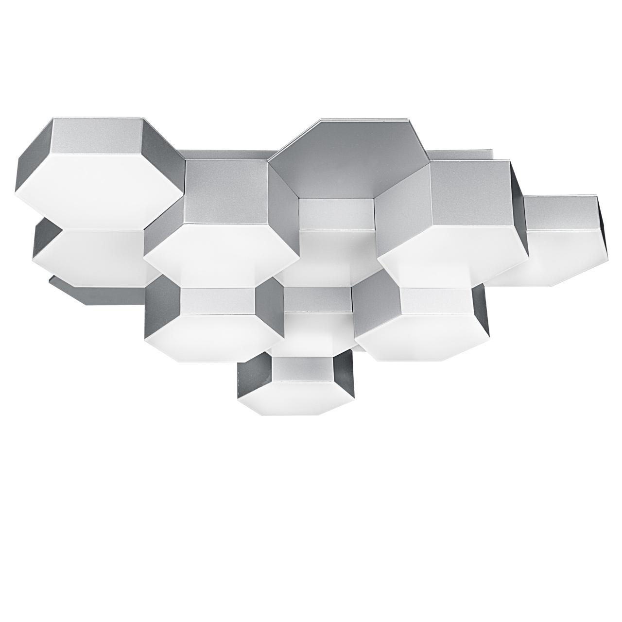 Люстра потолочная Favo LED-60W 2880LM silver 4000K Lightstar 750124