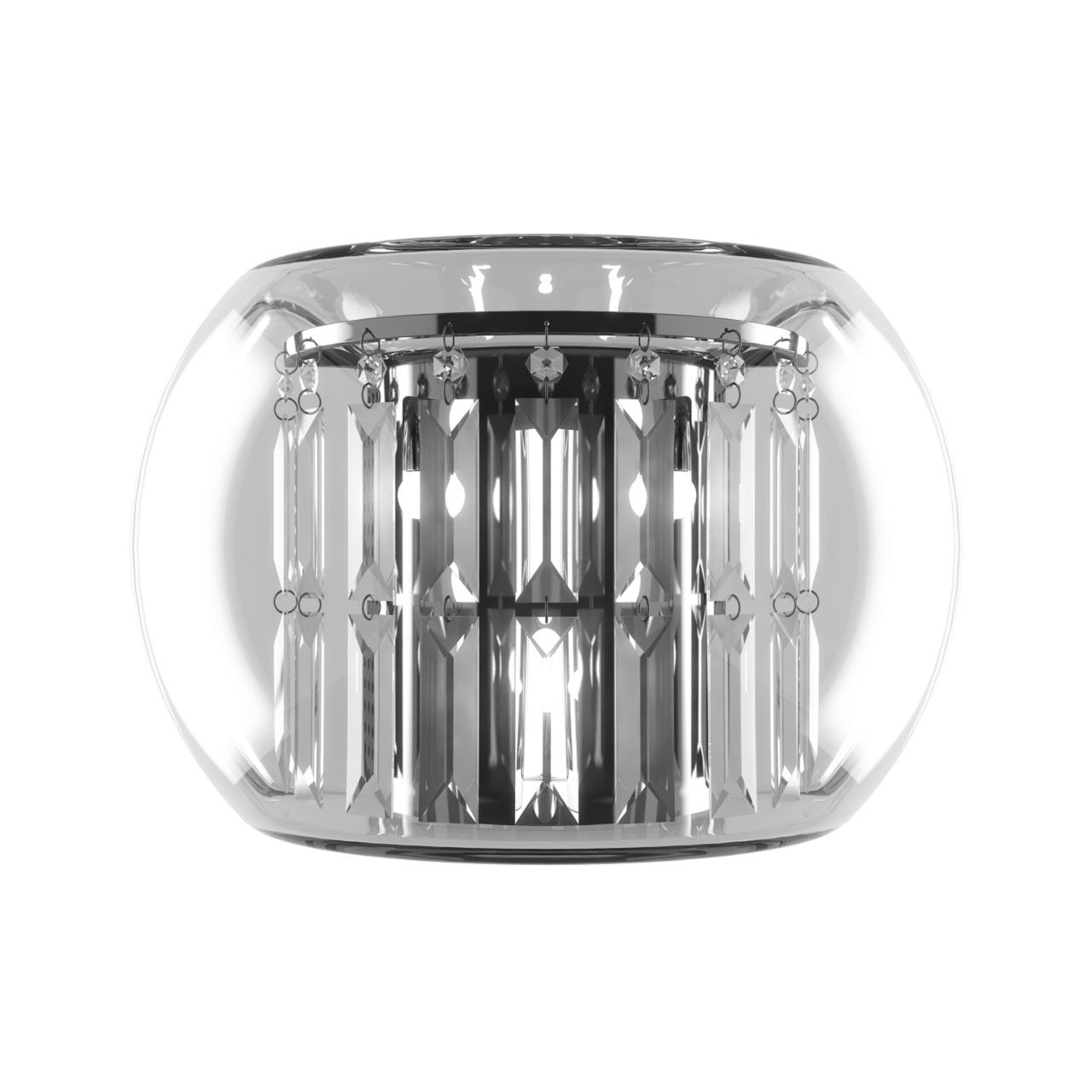 Бра Acquario 3х20W G4 12V хром хрусталь / стекло Lightstar 753634