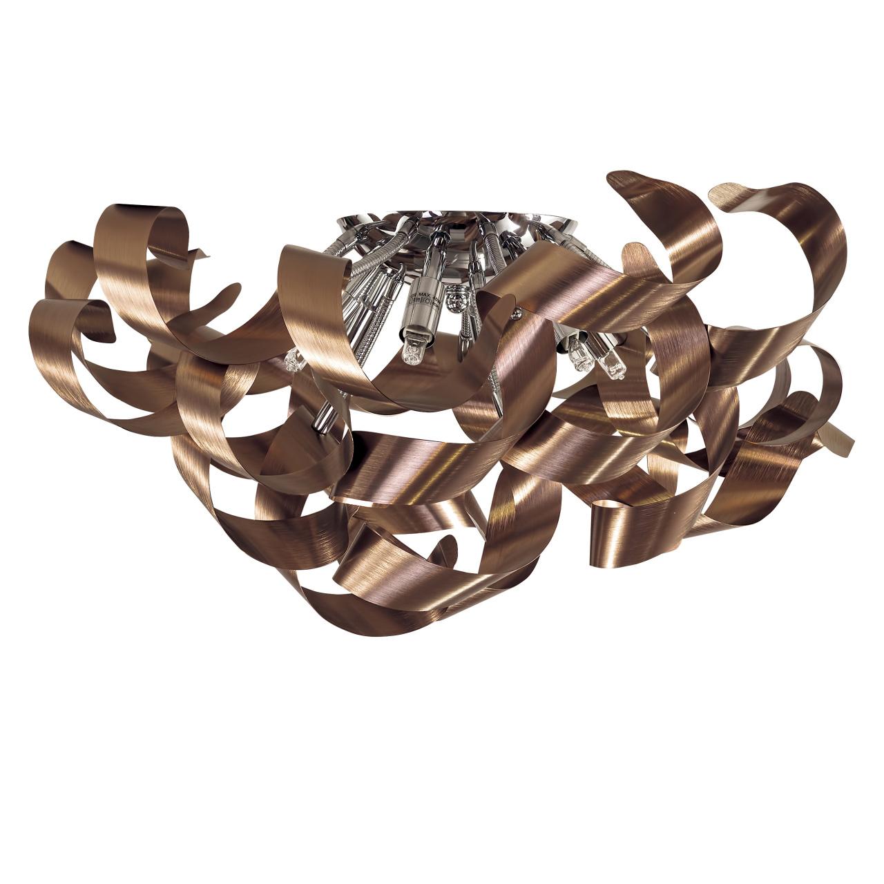 Люстра потолочная Turbio 6х40W G9 темная медь Lightstar 754068