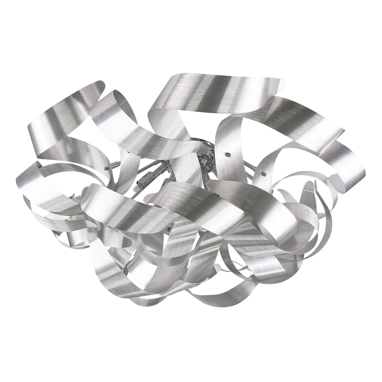 Светильник потолочный Turbio 9х40W G9 satin alu Lightstar 754099