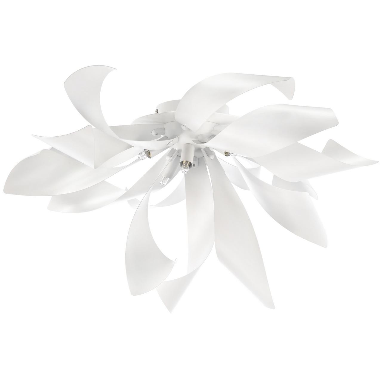 Люстра потолочная Turbio 6Х40W G9 матовая белая Lightstar 754166