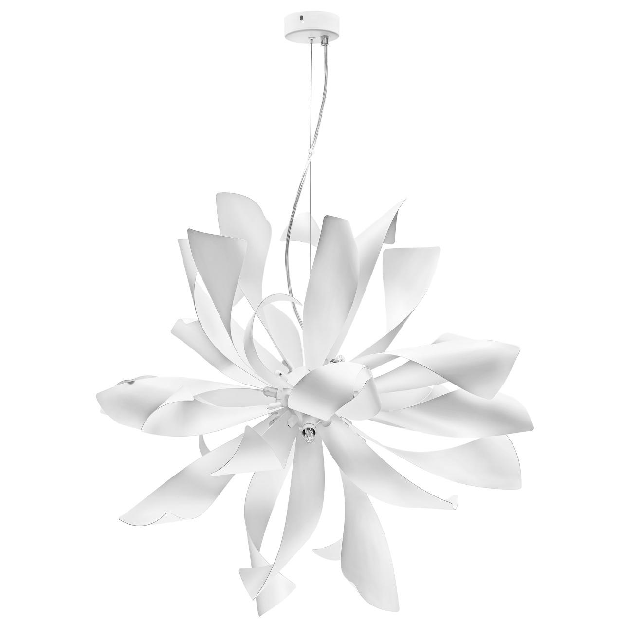 Люстра подвесная Turbio 6х40W G9 матовый белый Lightstar 754266