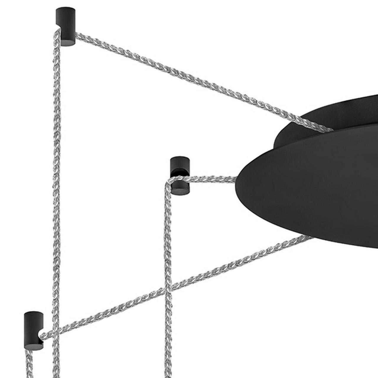 Подвесная люстра CONE LightStar 757067 цвет - черный матовый