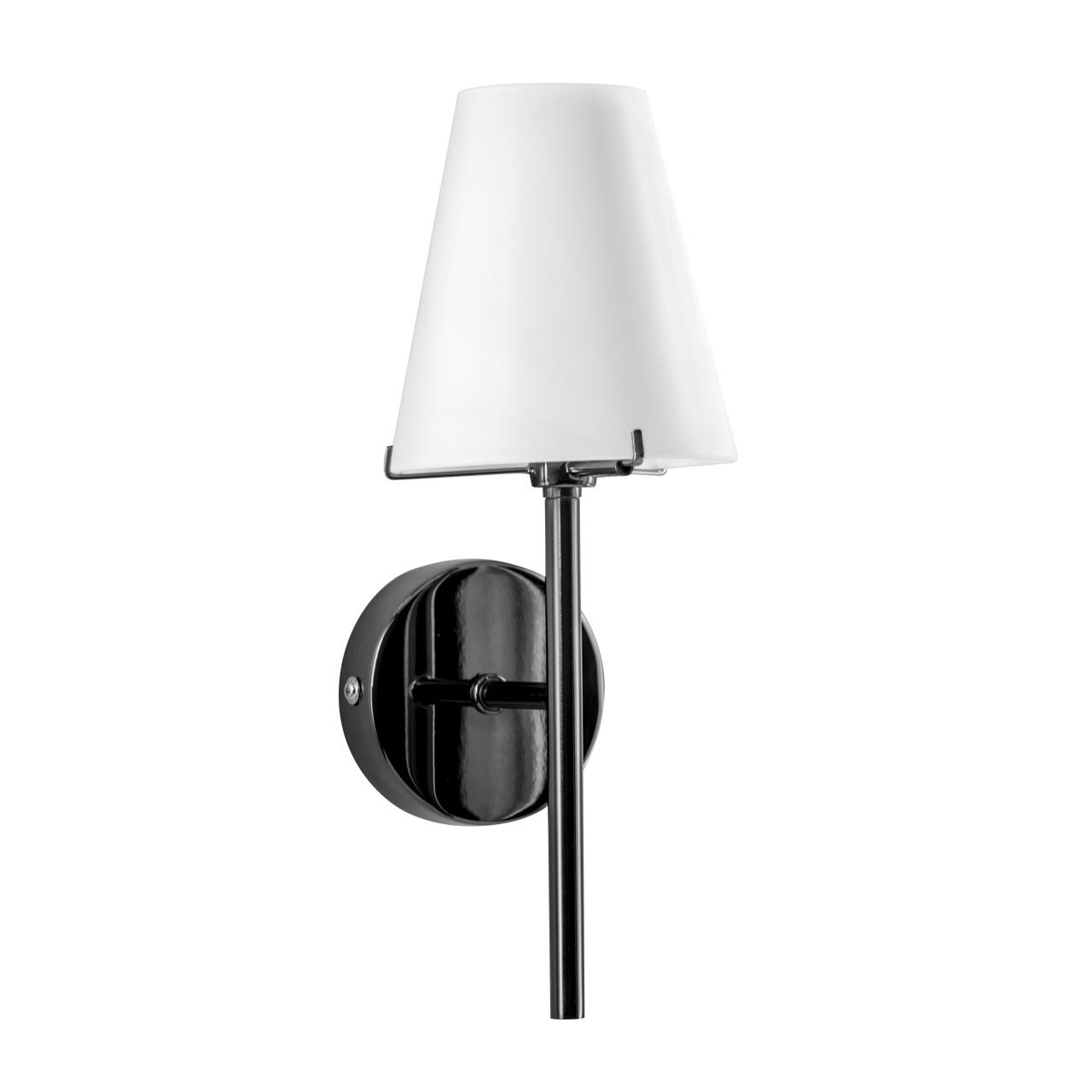 Бра Diafano 1х40W G9 черный хром / белый Lightstar 758617