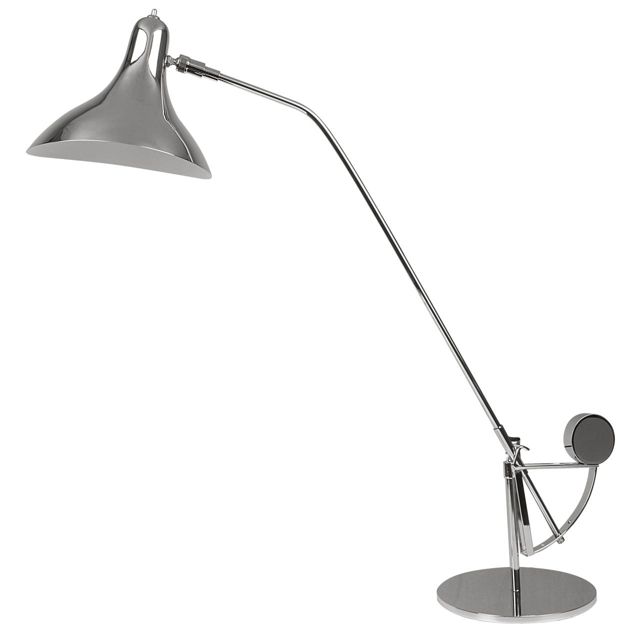 Настольная лампа Manti 1х40W E14 хром Lightstar 764904