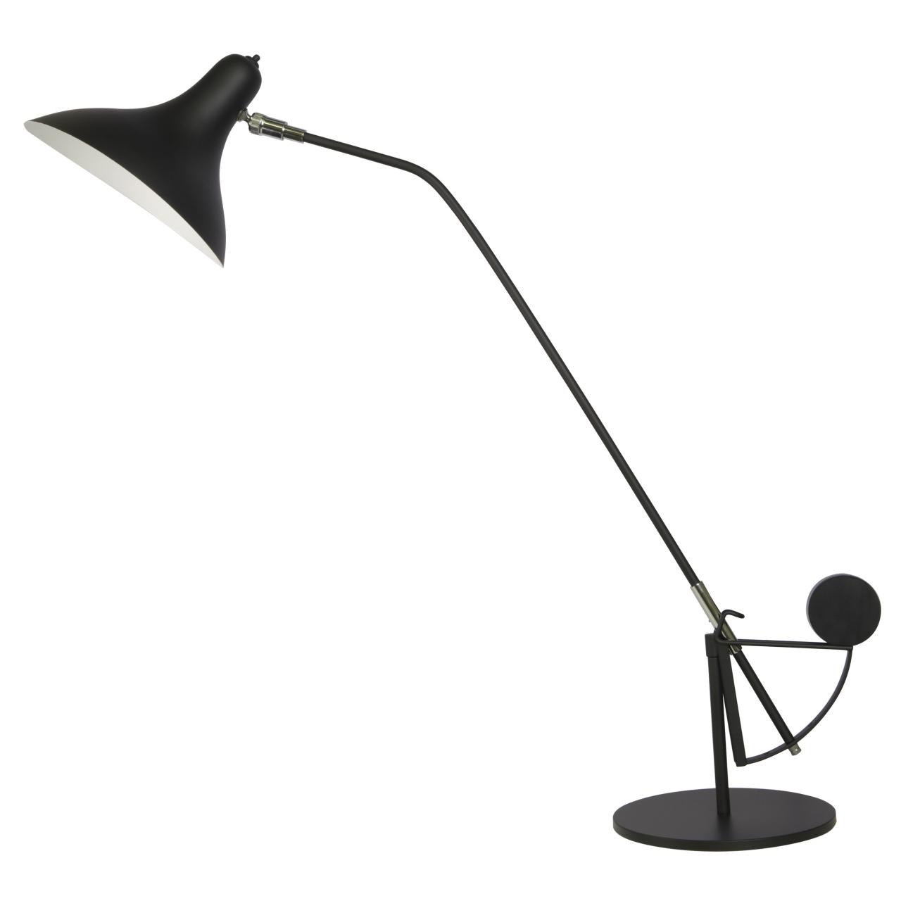 Настольная лампа Manti 1х40W E14 Black Lightstar 764907
