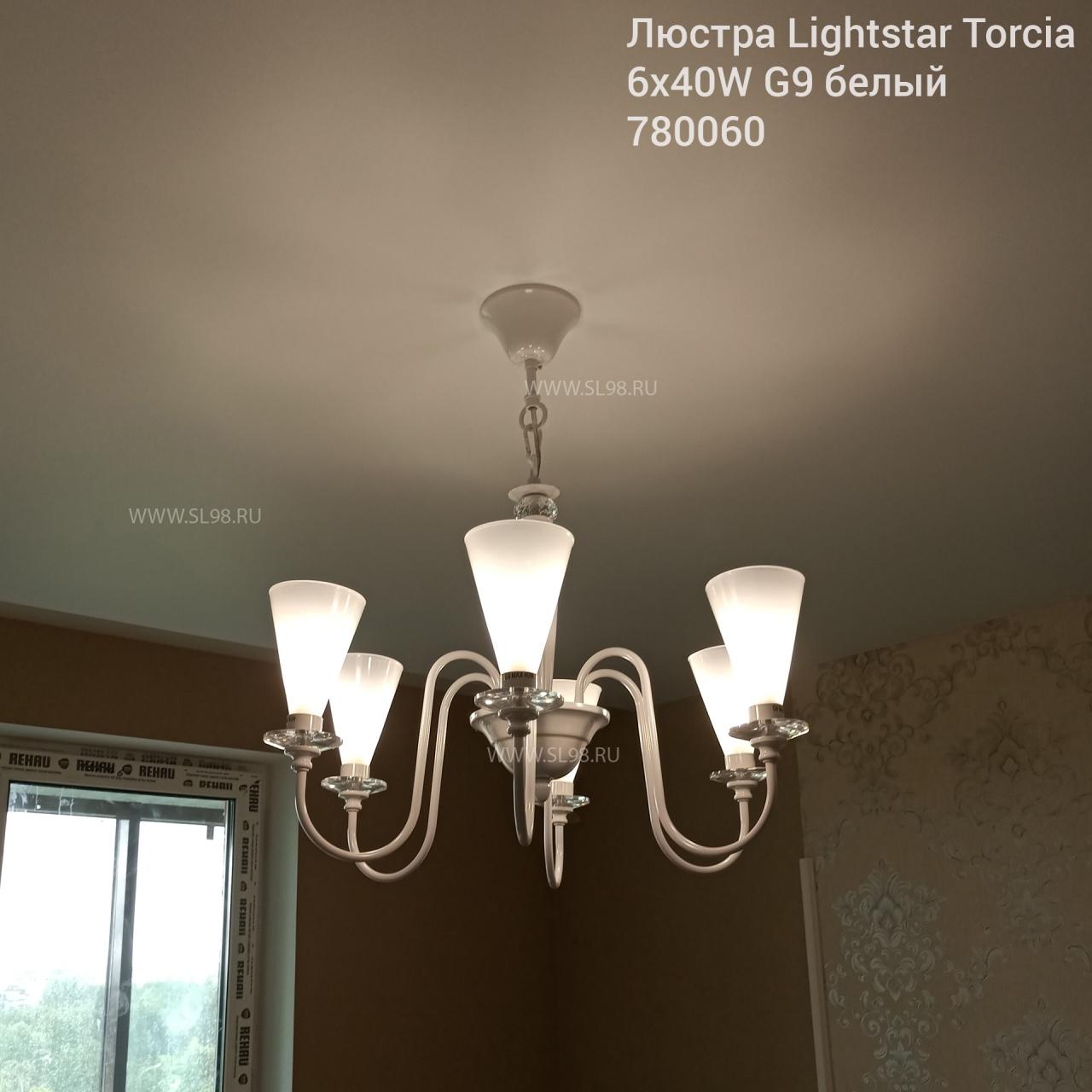 Люстры в интерьере: Люстра подвесная Torcia Lightstar 780060