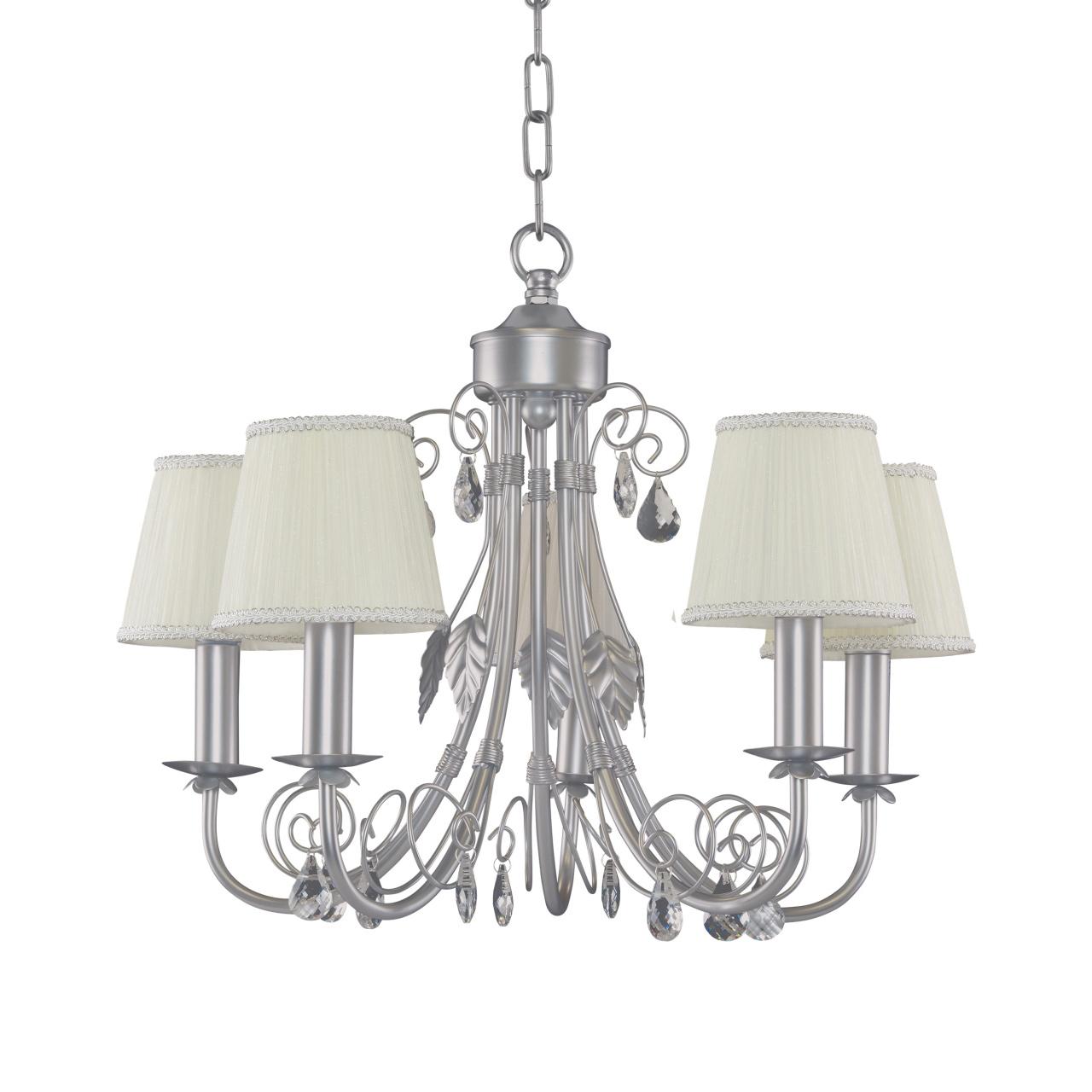 Люстра подвесная Modesto 5х40W E14 серебро Lightstar 781054