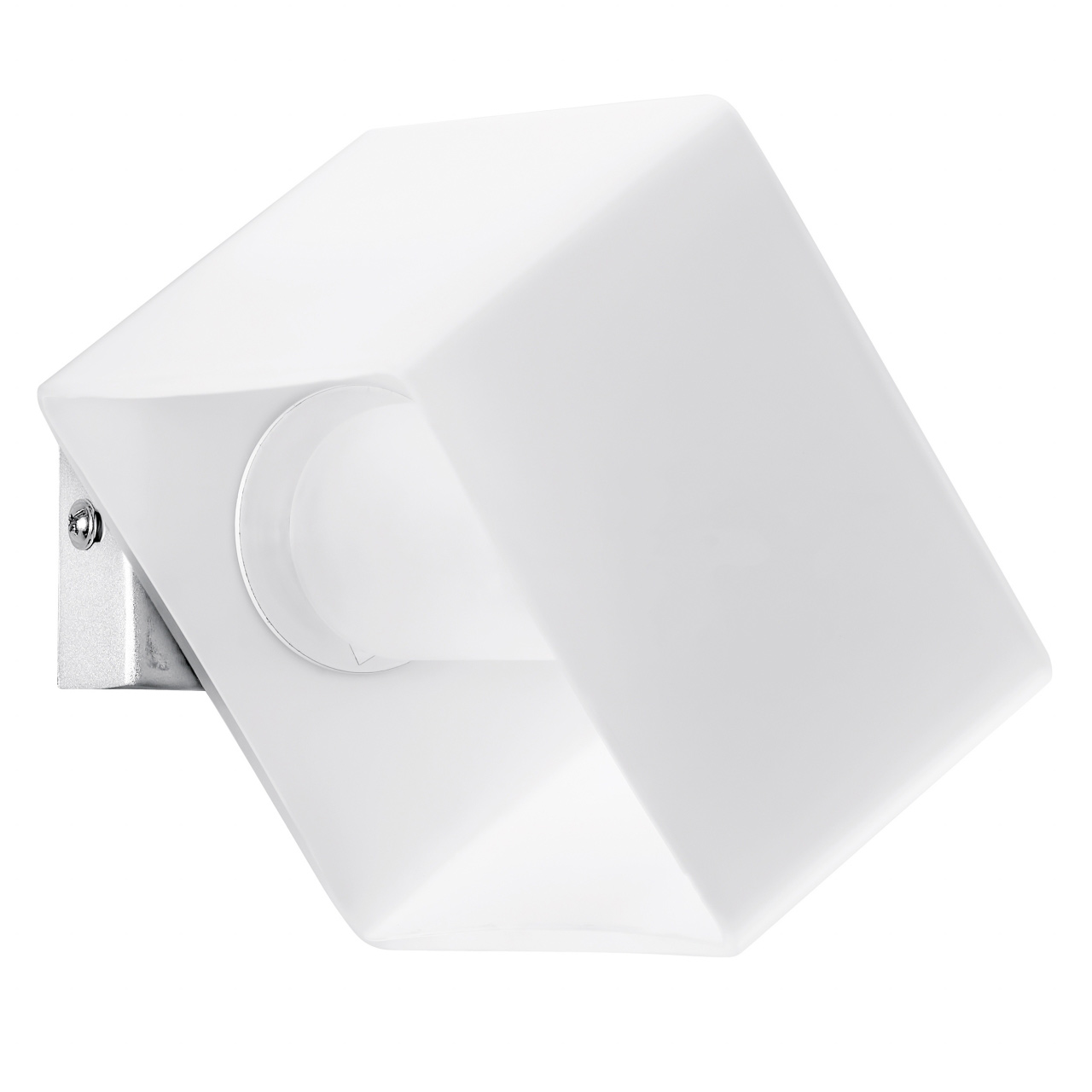 Светильник настенный Pezzo 1х40W G9 хром / белый Lightstar 801610