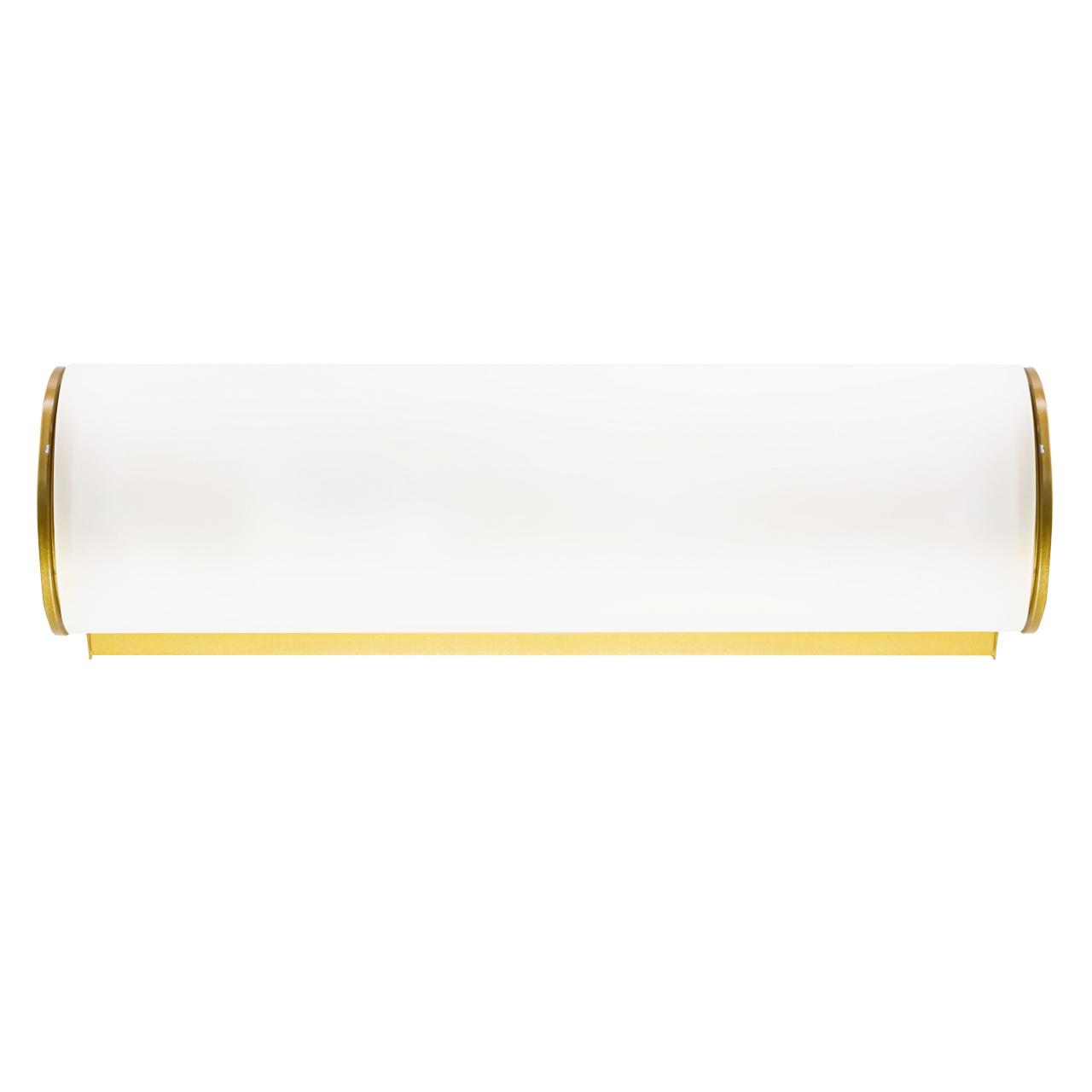 Светильник настенный Blanda 1х40W E14 золото / белый Lightstar 801813