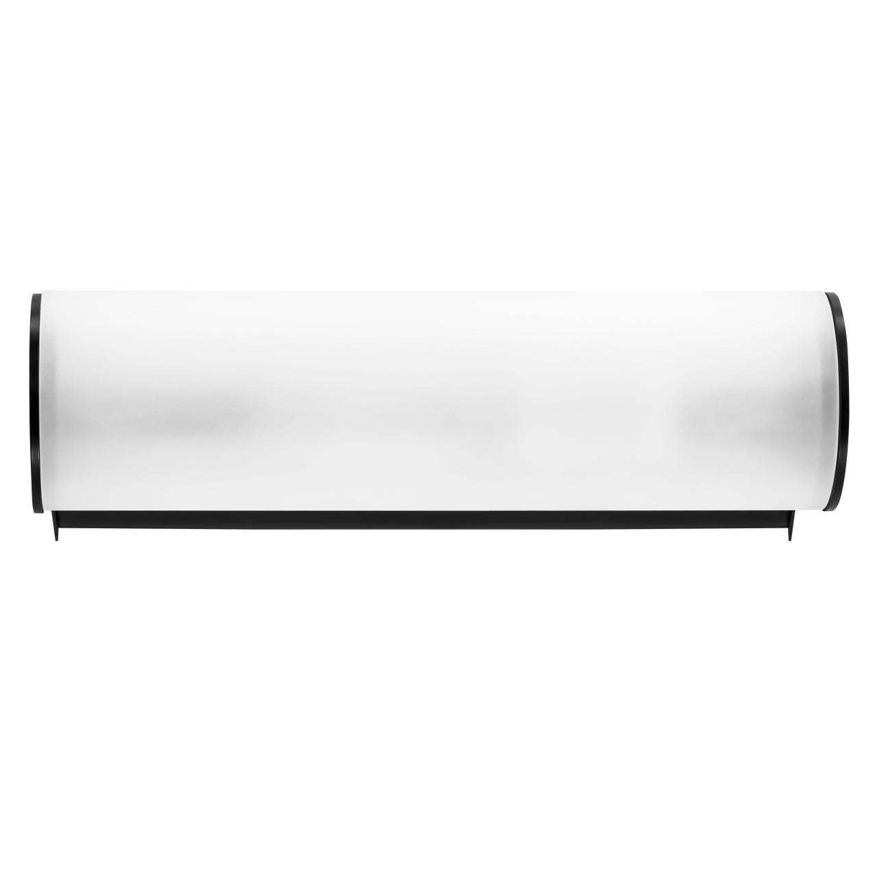 Светильник настенный Blanda 1х40W E14 черный / белый Lightstar 801817