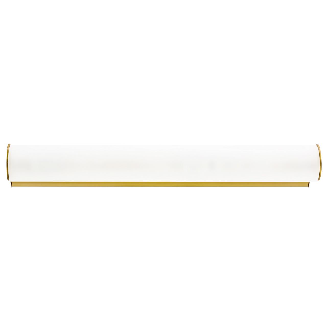 Светильник настенный Blanda 3х40W E14 золото / белый Lightstar 801833