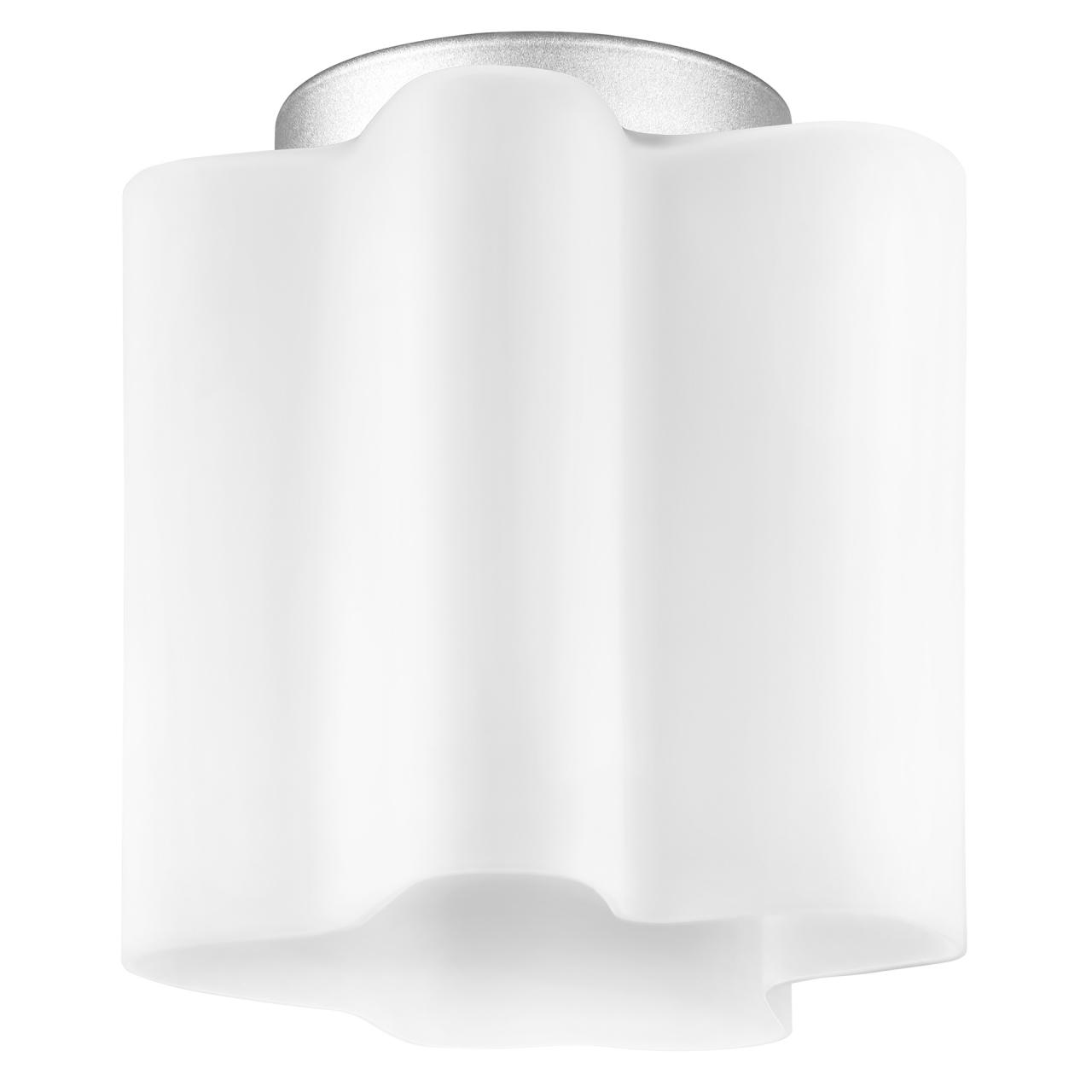 Люстра потолочная Nubi 1х40W E27 хром / белый Lightstar 802010