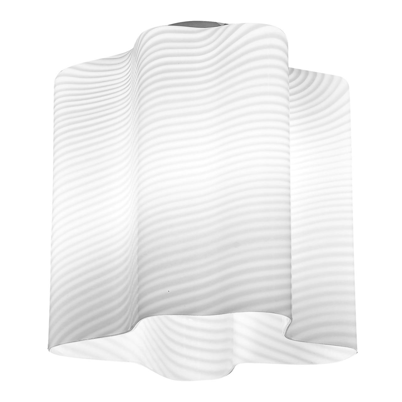 Люстра потолочная Nubi Ondoso 1х40W E27 хром / белый полосатый Lightstar 802011