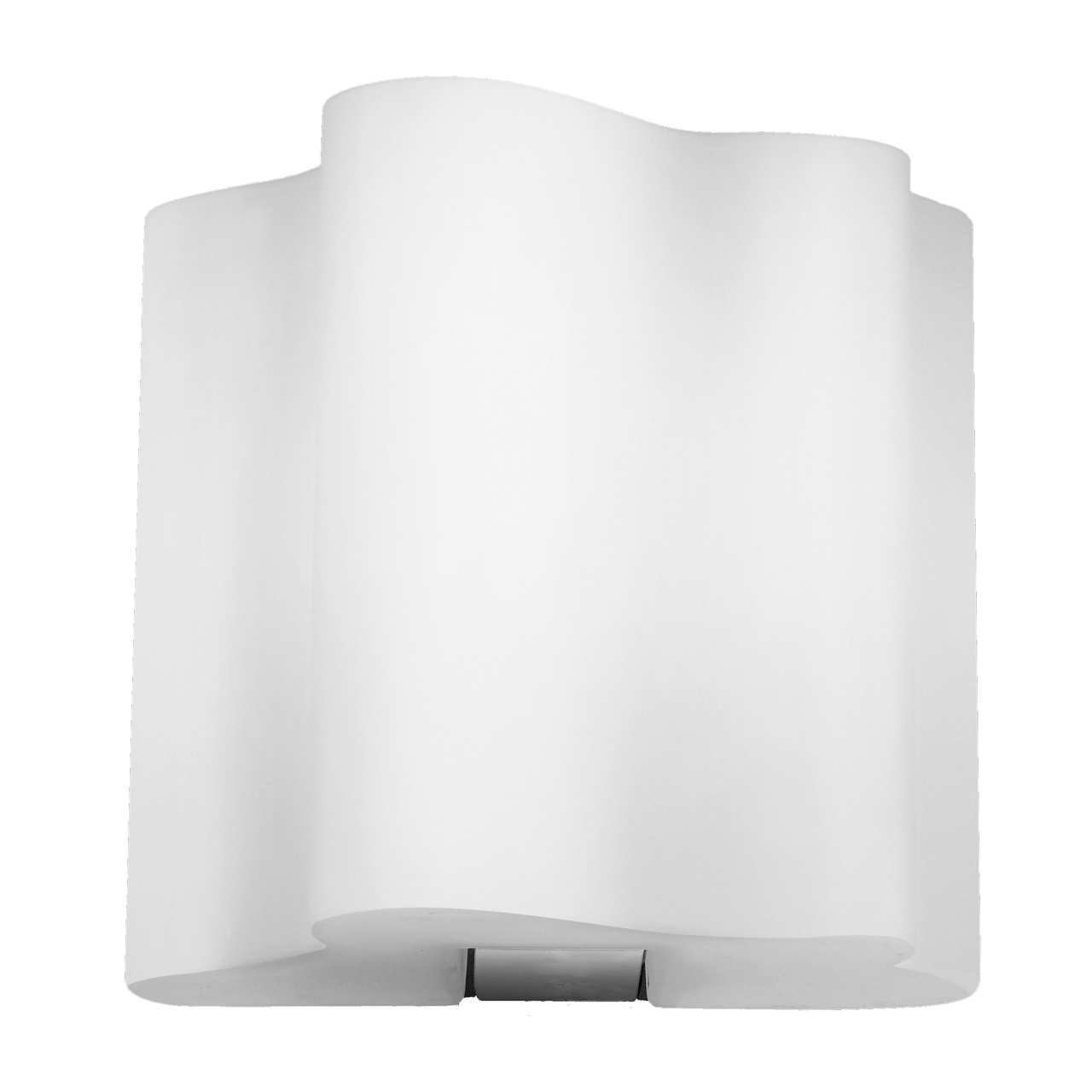 Бра Nubi 1х40W E14 хром / белый Lightstar 802610