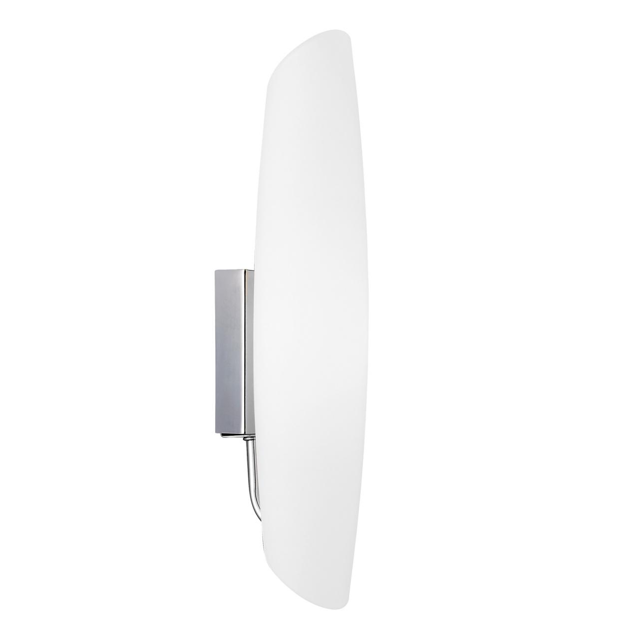 Светильник настенный Dissimo 1х40W E14 хром / белый Lightstar 803600