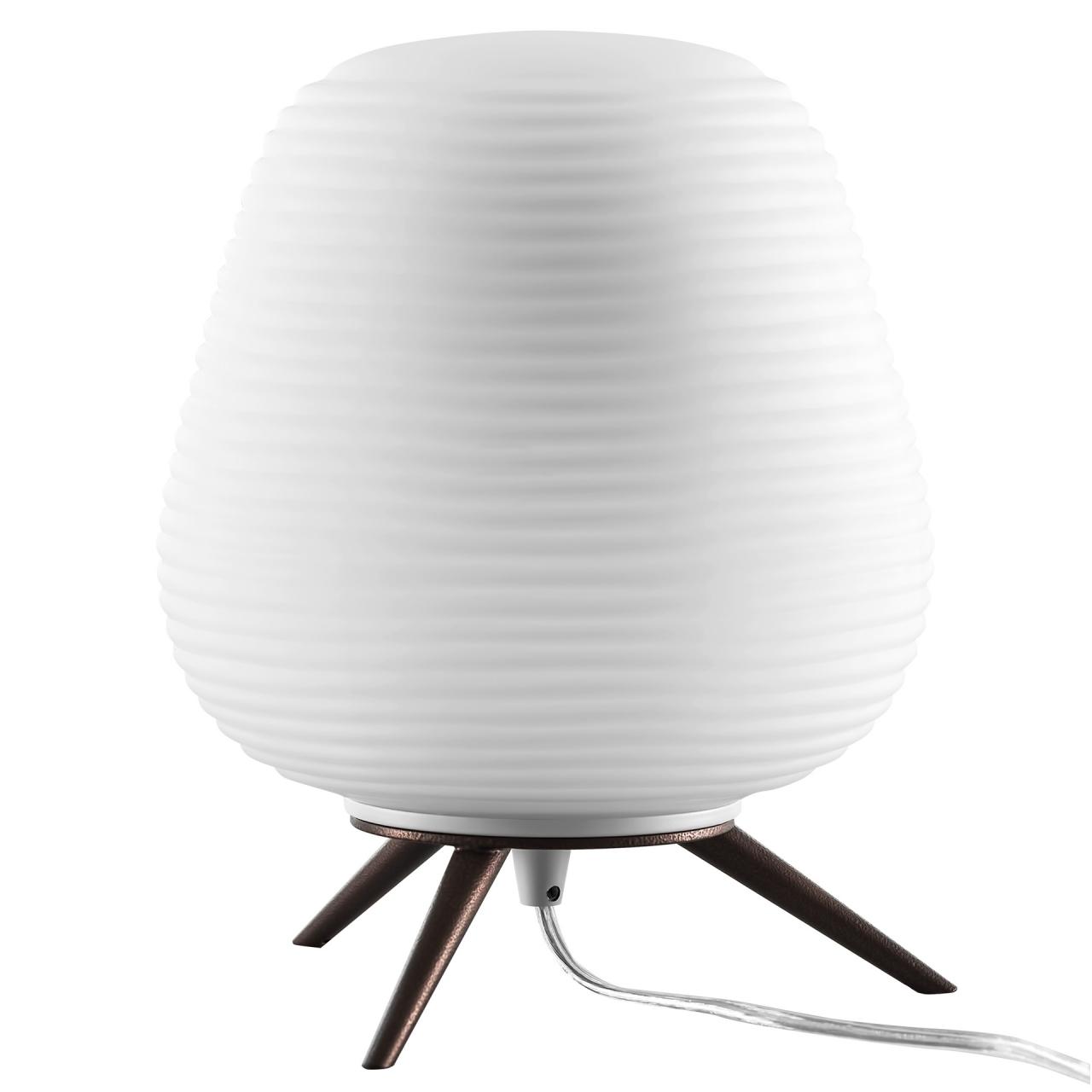 Настольная лампа Arnia 1Х40W E27 Коричневый / Белый Lightstar 805911