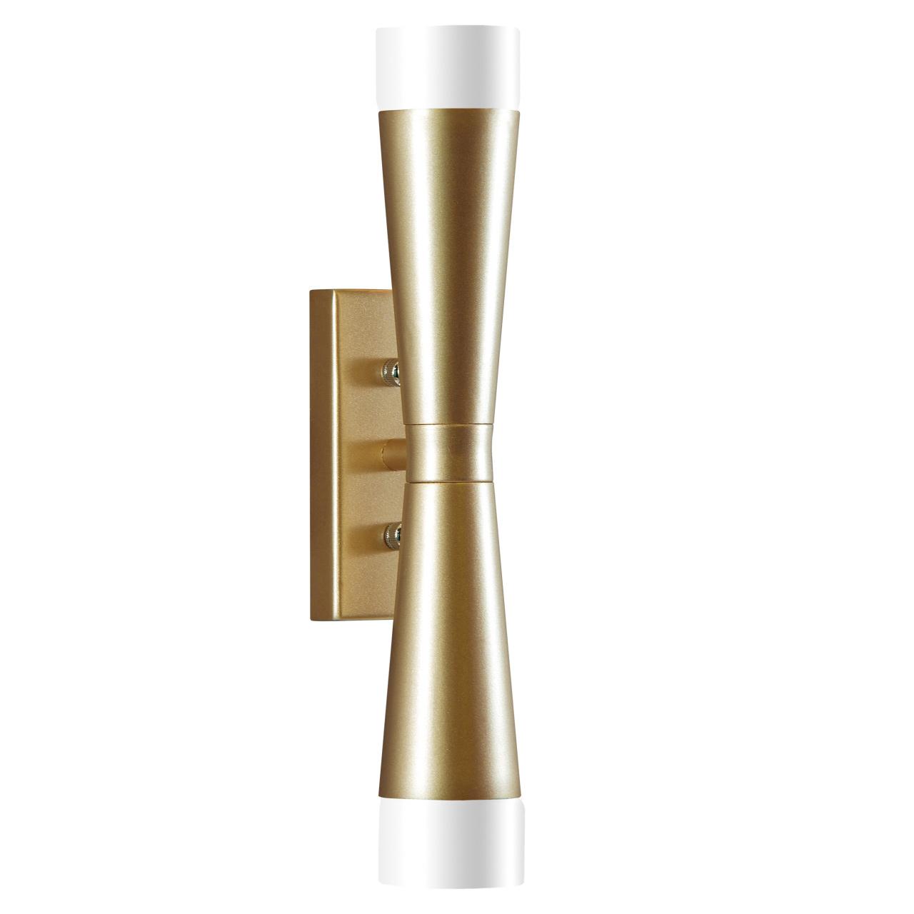 Бра Punto 2х7W G9 (Led) шампань Lightstar 807623