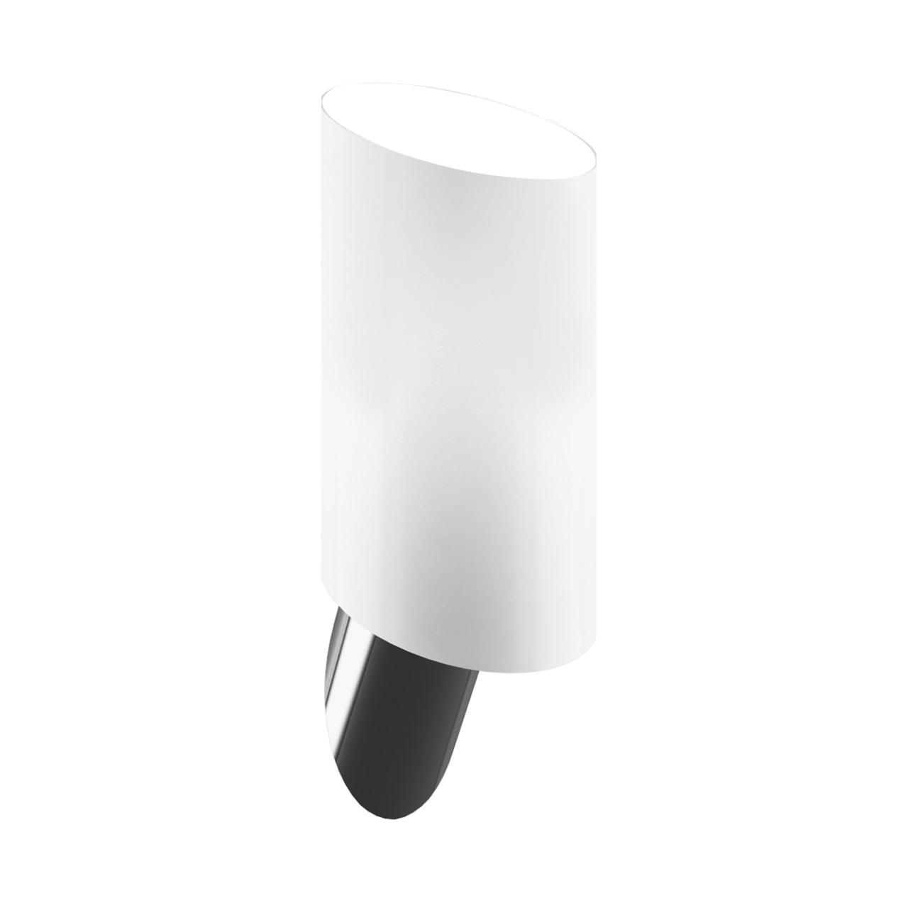 Светильник настенный Muro 1х40W E14 белый / никель Lightstar 808610