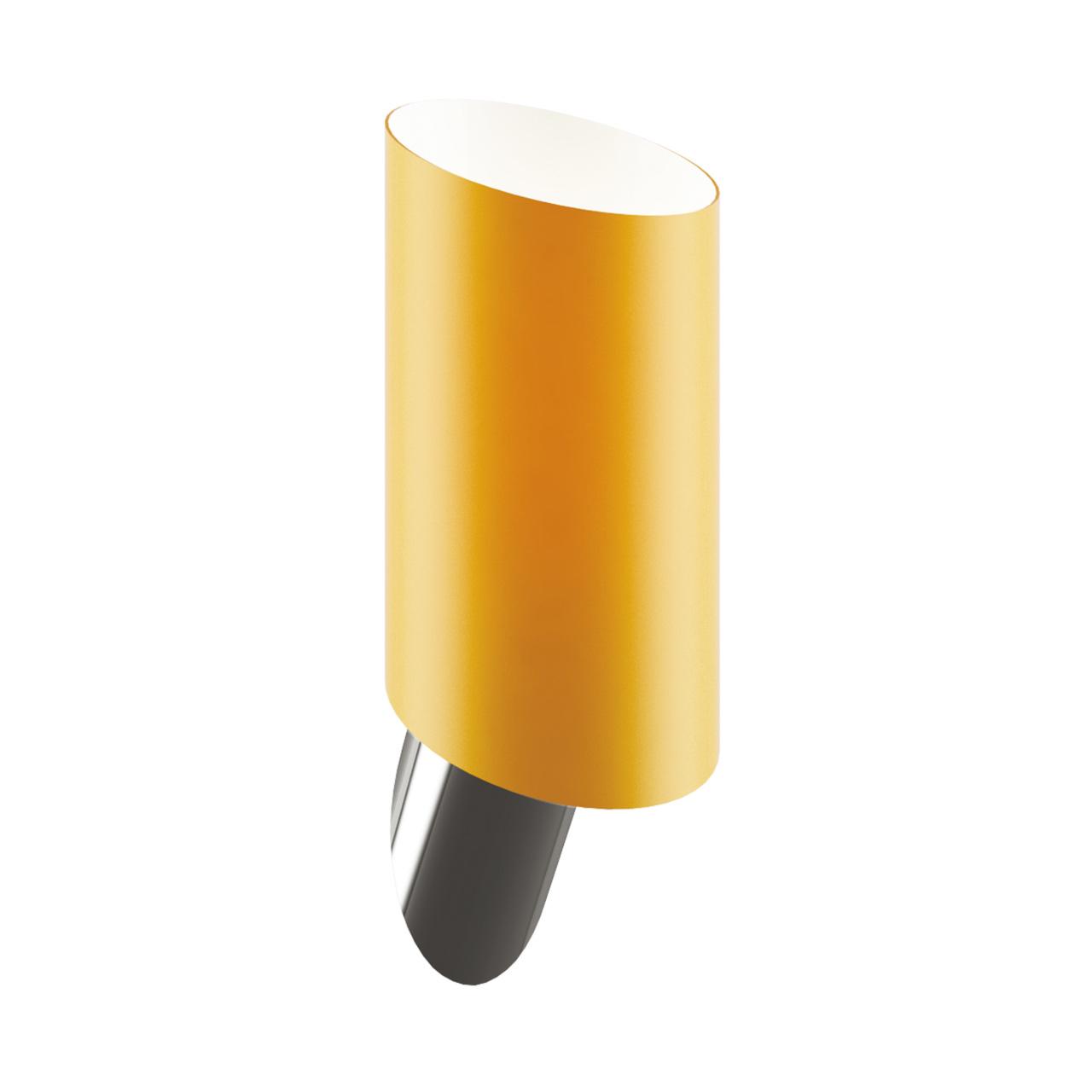Светильник настенный Muro 1х40W E14 янтарь/никель Lightstar 808613