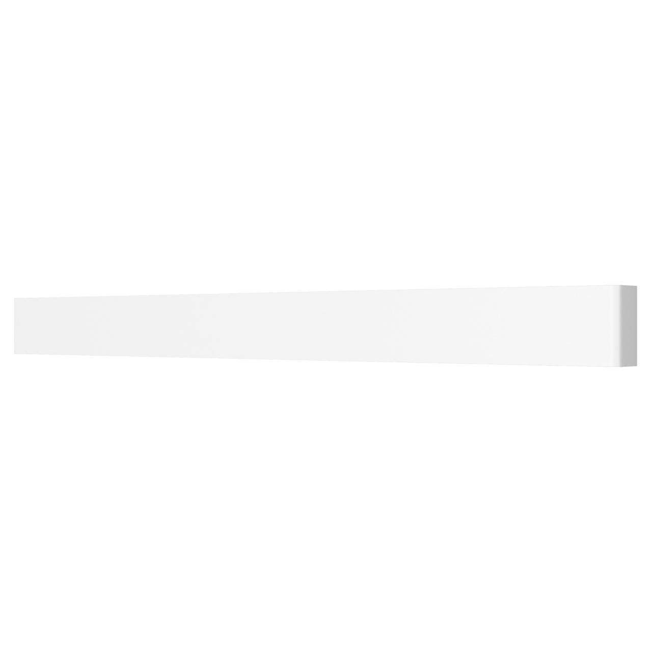 Бра Fiume 30W 2850LM матовый белый 4000K Lightstar 810636