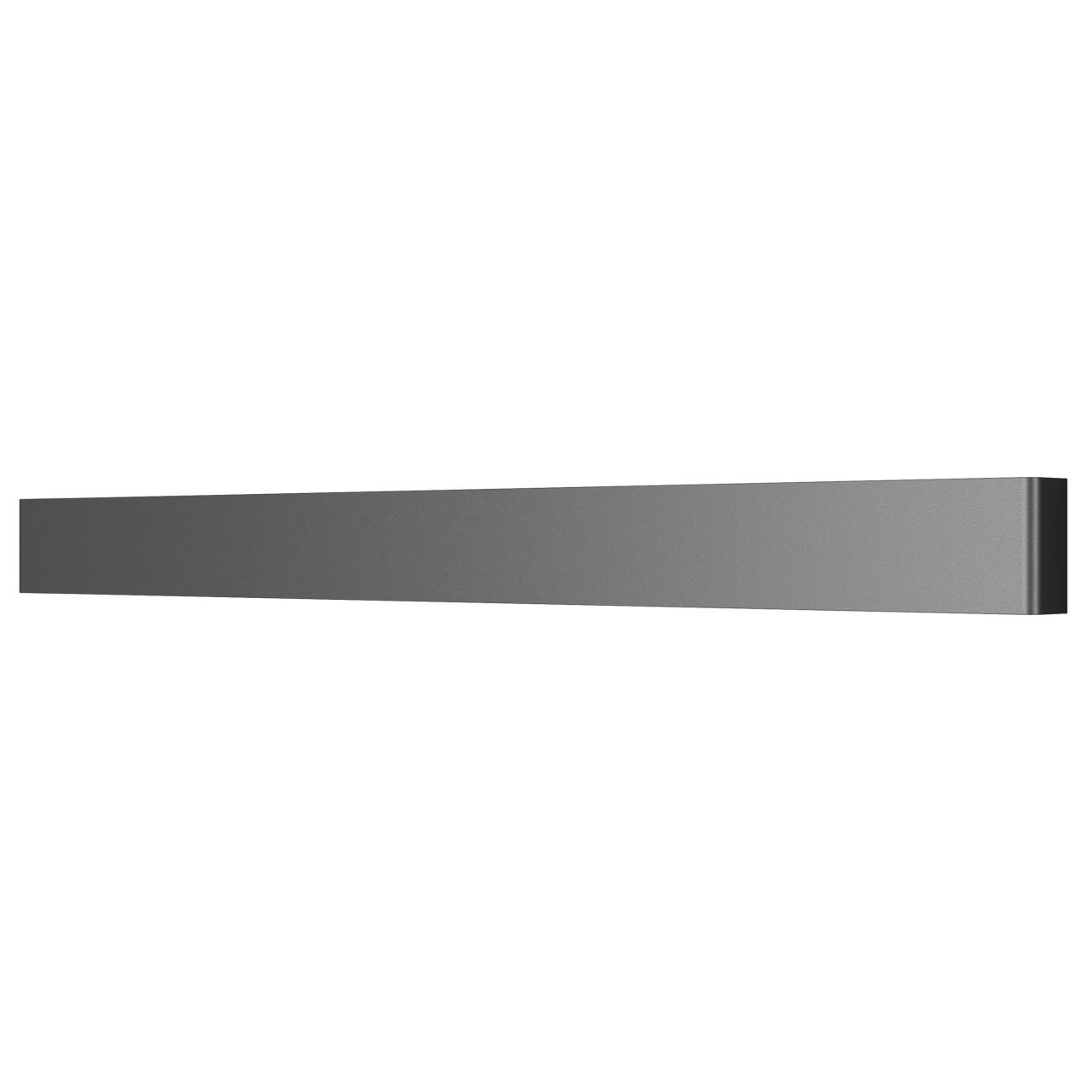 Бра Fiume 30W 2850LM матовый черный 3000K Lightstar 810537