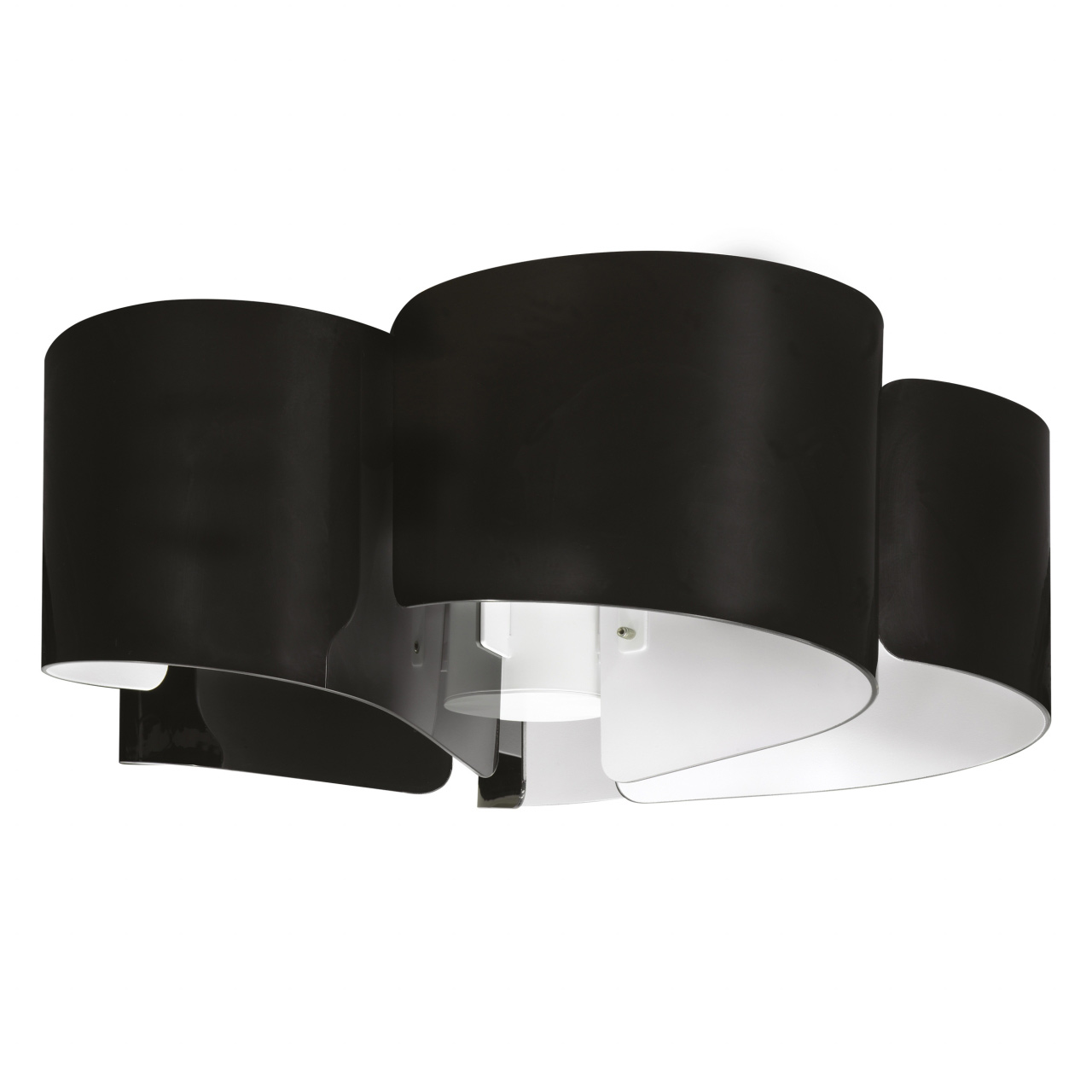 Люстра потолочная Pittore 5х40W E27 черный / белый Lightstar 811057