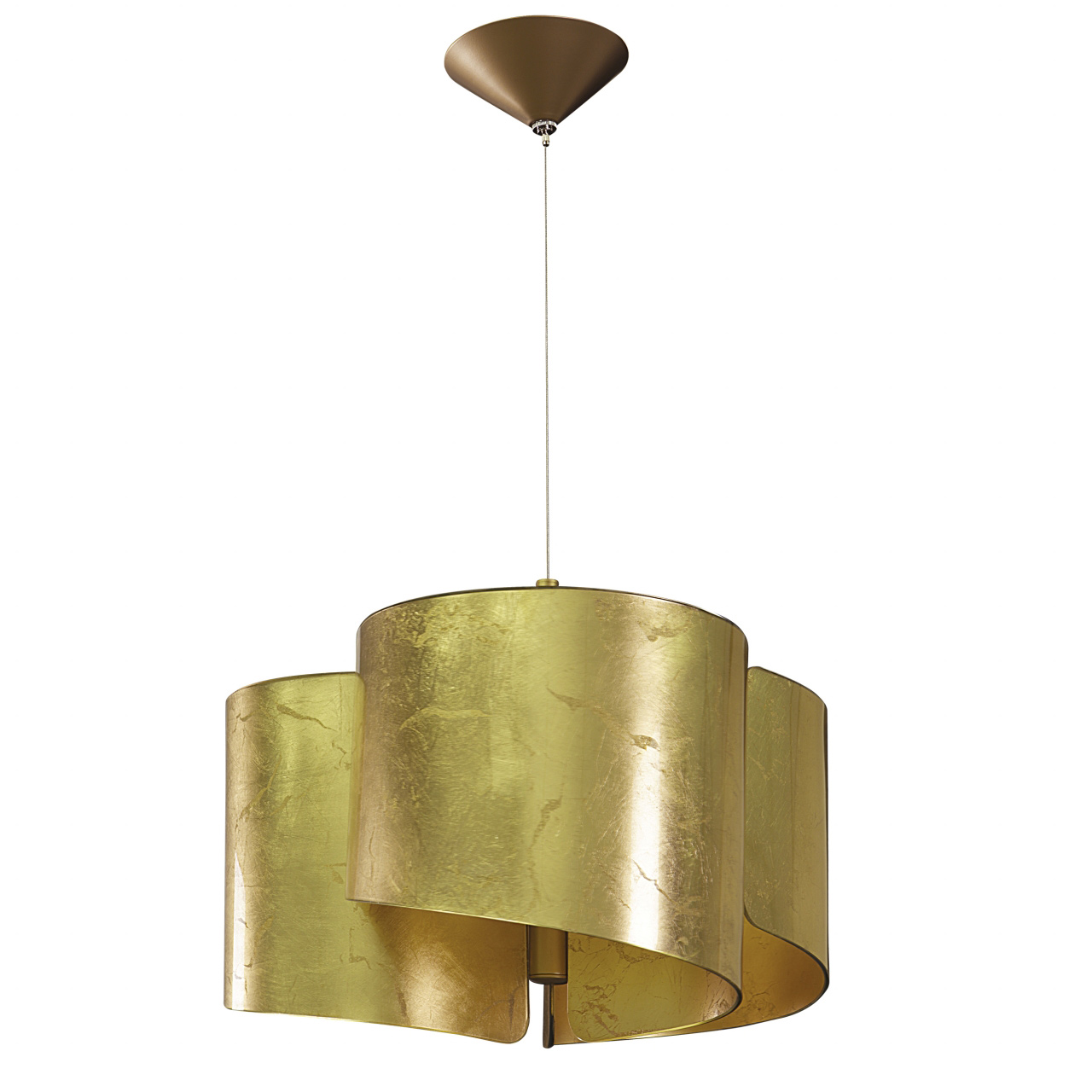 Люстра подвесная Pittore 3х40W E27 golden Lightstar 811132